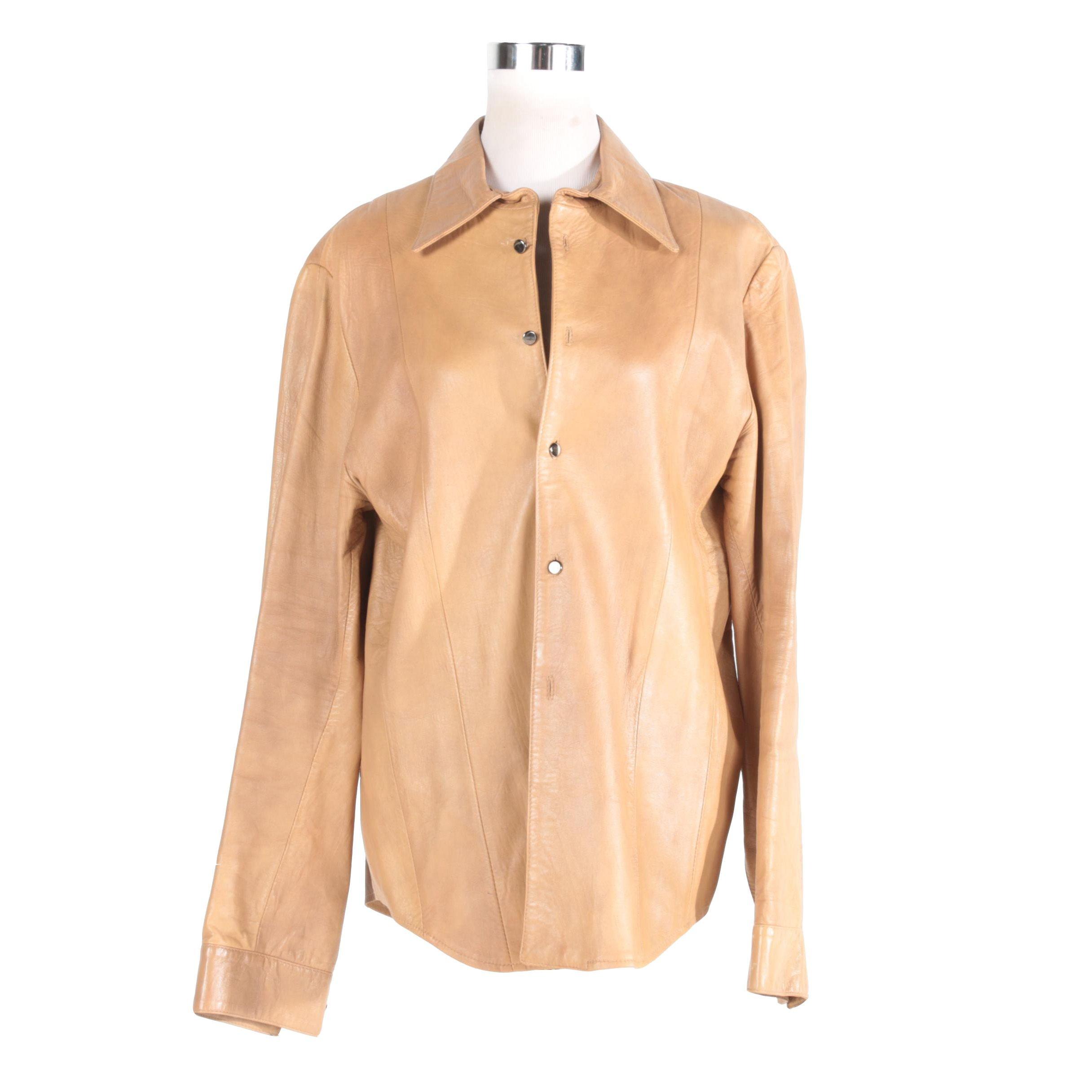 Men's Vaunt Leather Jacket