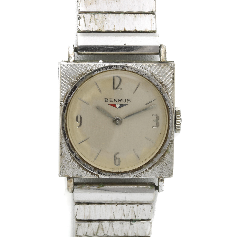 Benrus 10K Gold Plate Wristwatch