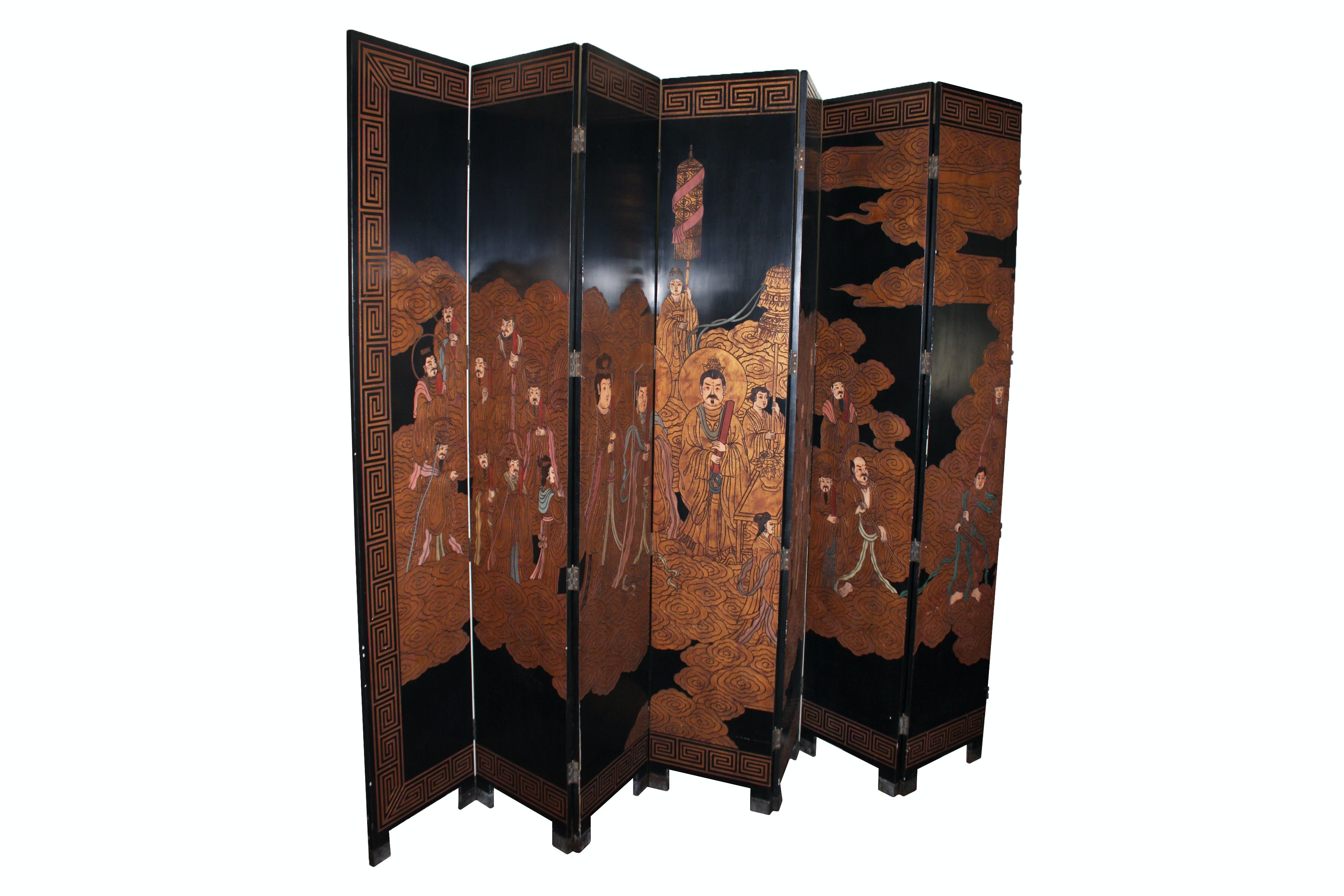 Six Panel Chinese Room Divider By Maitland-Smith
