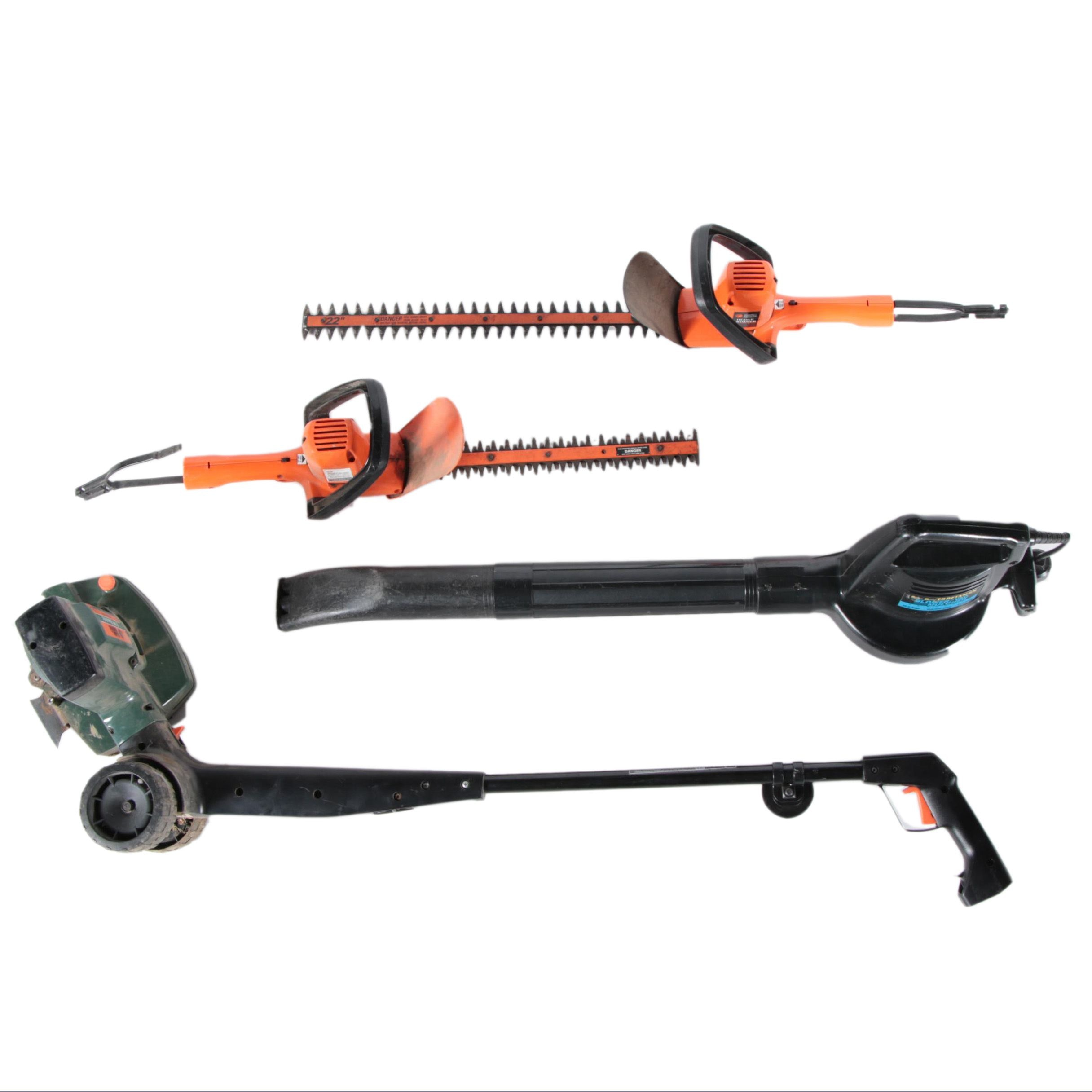 Collection of Yard Tools