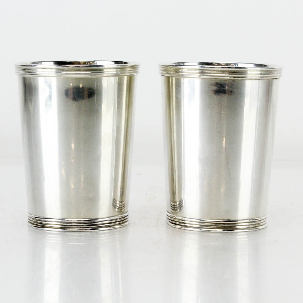Manchester Silver Co. Sterling Silver Mint Julep Cups