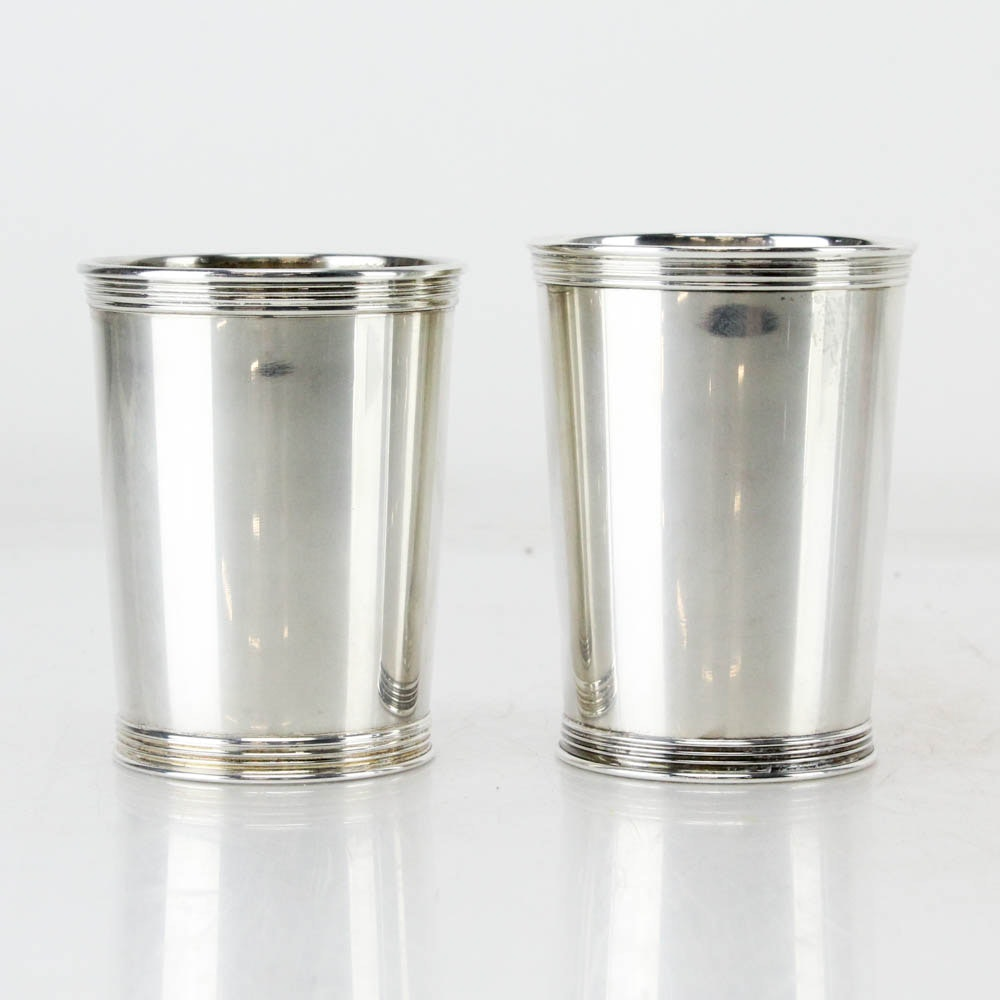 Benjamin N. Trees and Other Sterling Silver Mint Julep Cups