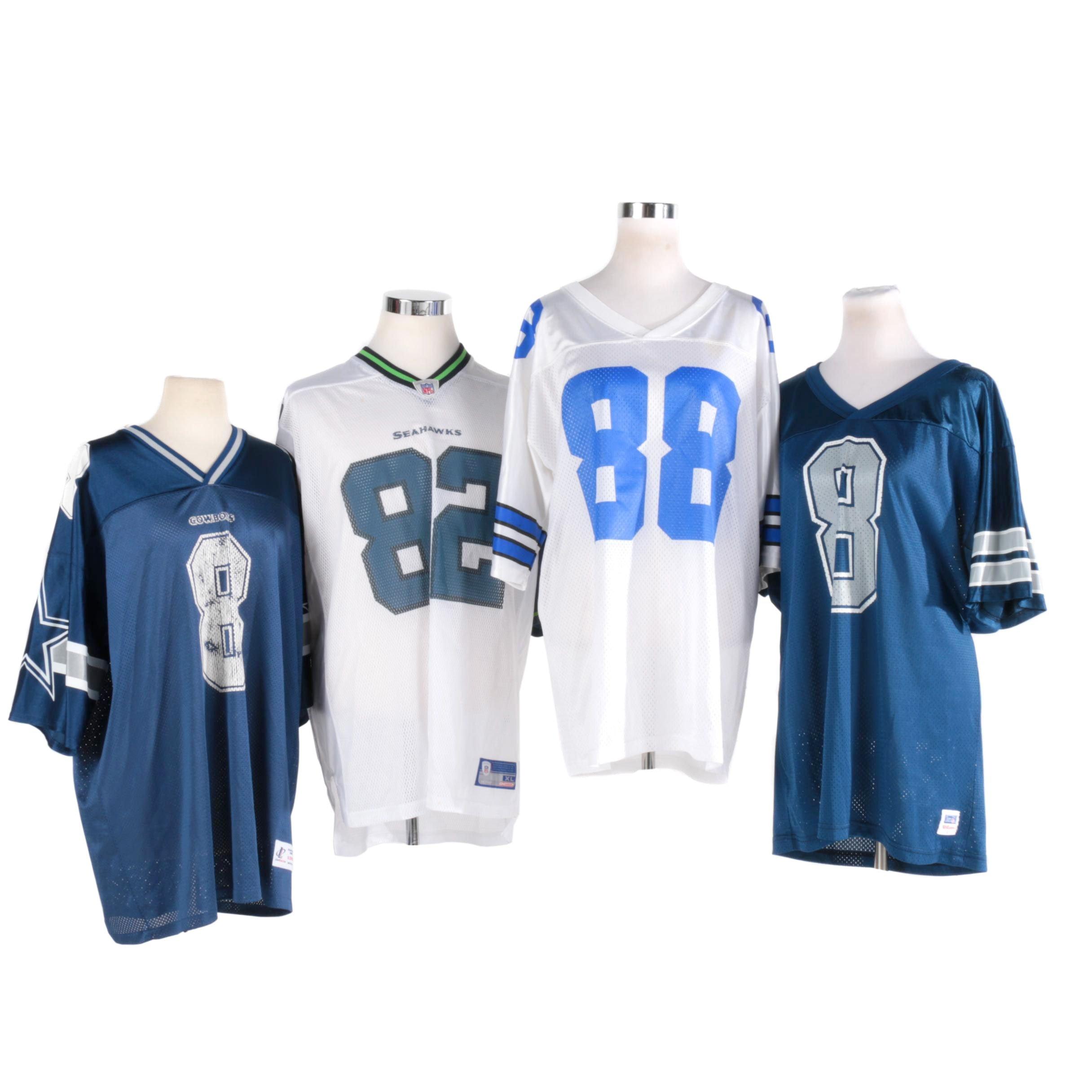 NFL Fan Jerseys Including Troy Aikman