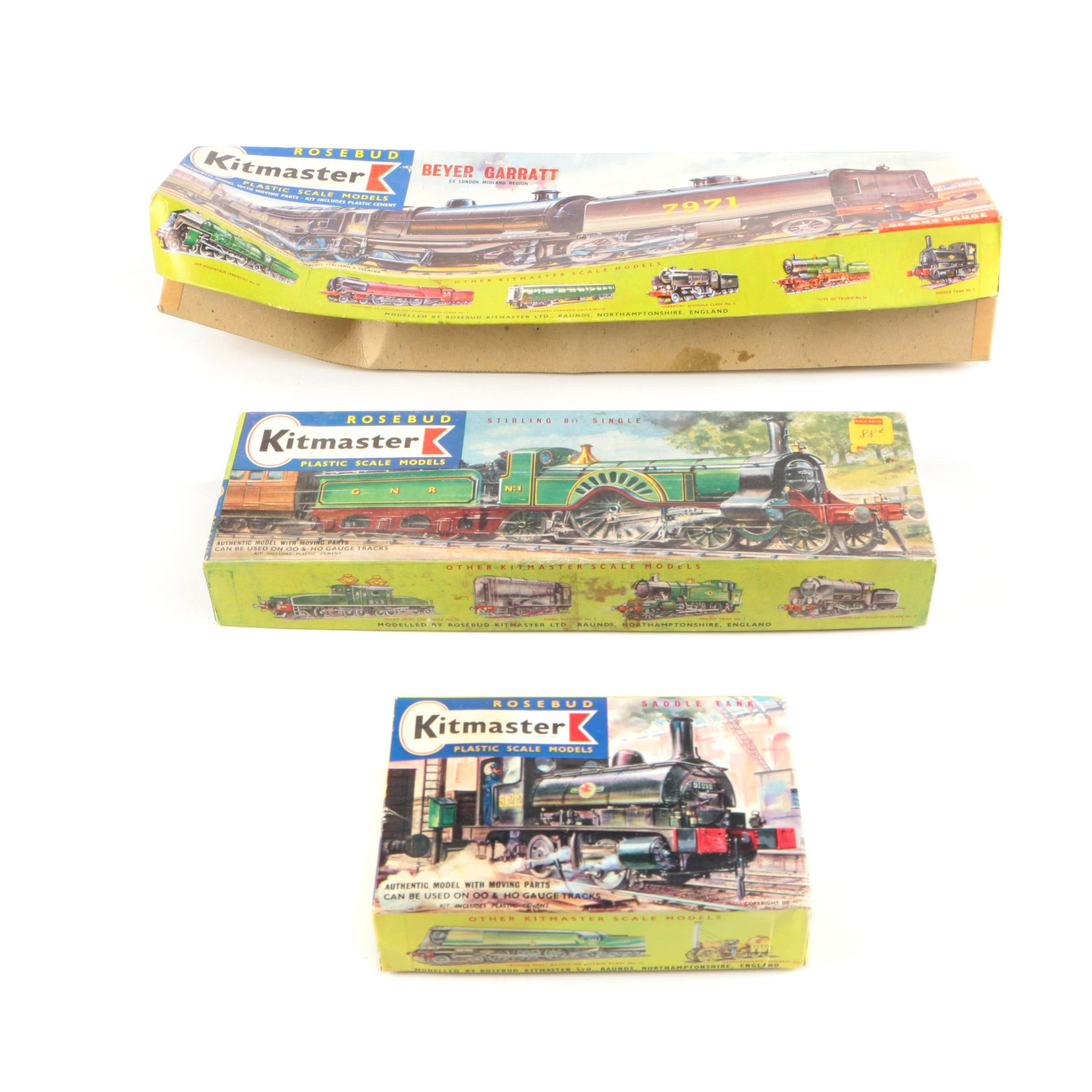 Three Kitmaster Trains
