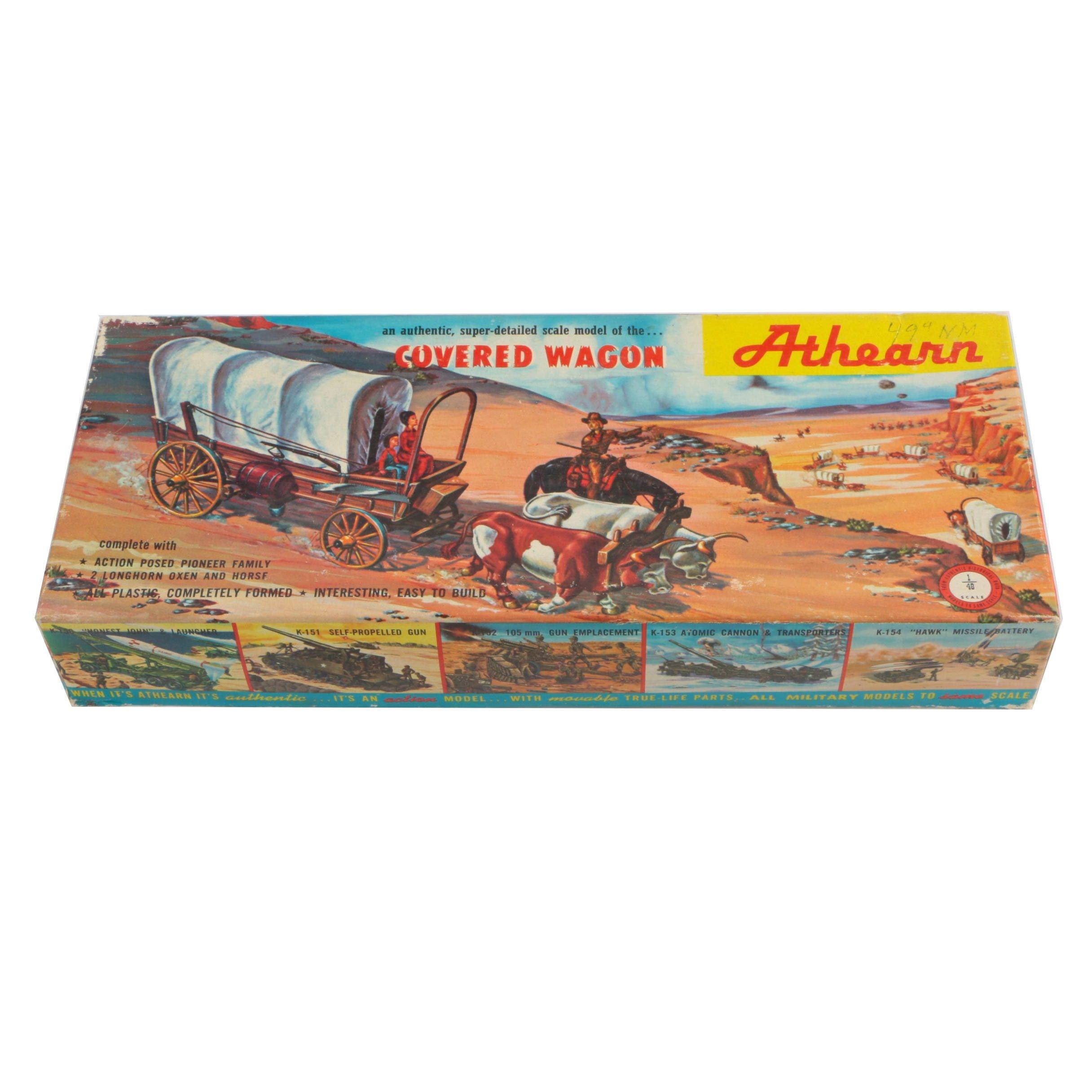 Athearn Model Covered Wagon
