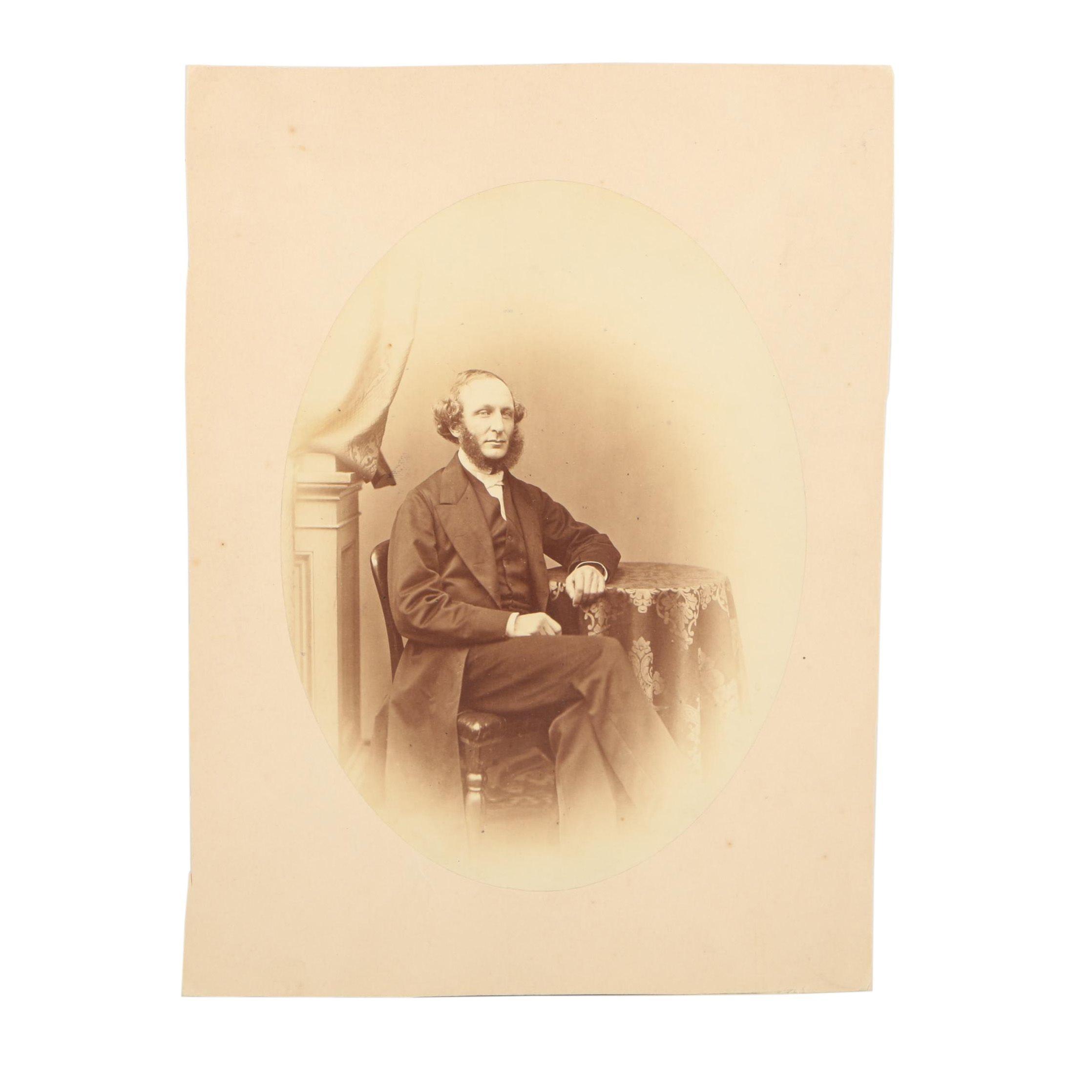 Photograph of Artist J.B. Curtis