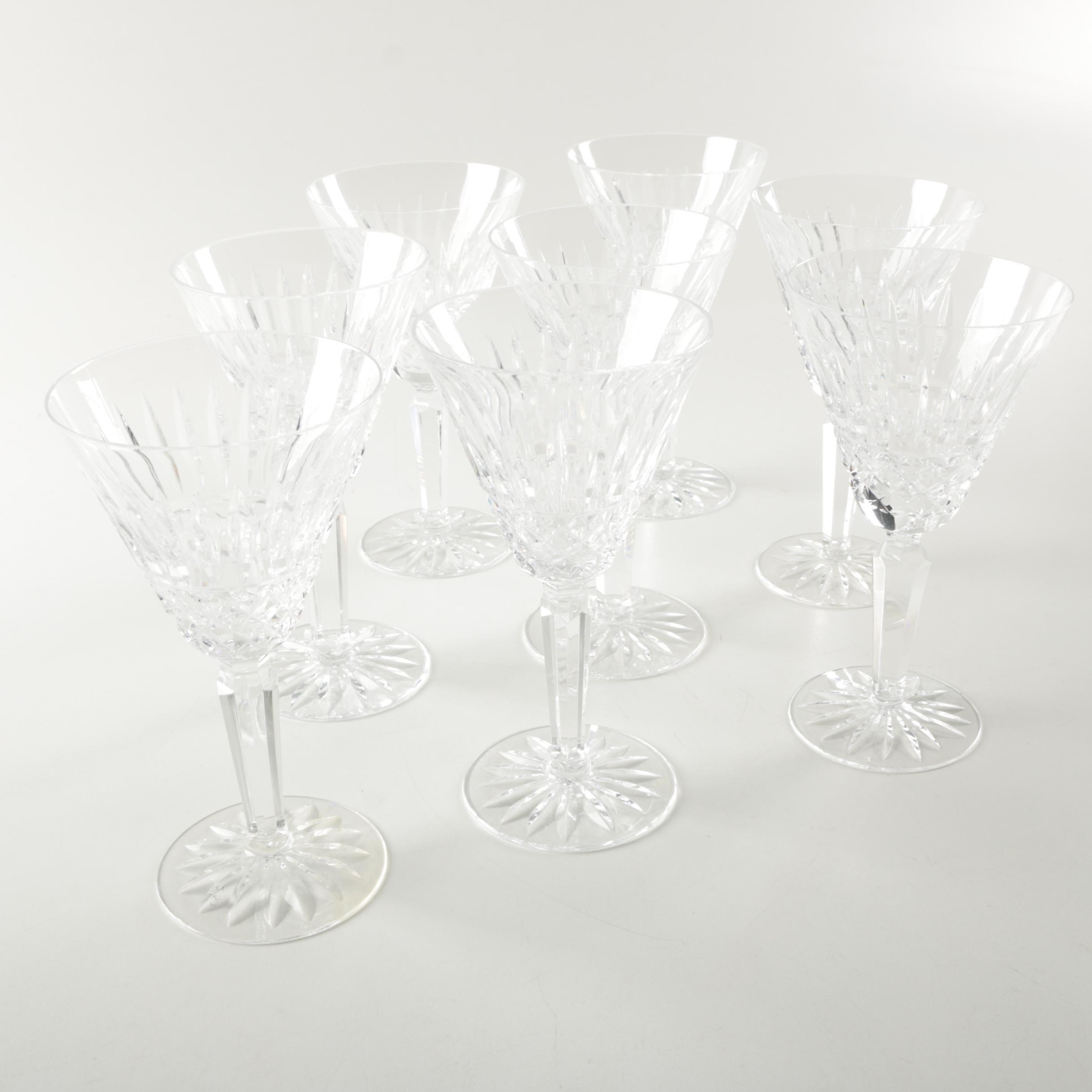 "Waterford Crystal ""Maeve"" Wine Glasses"