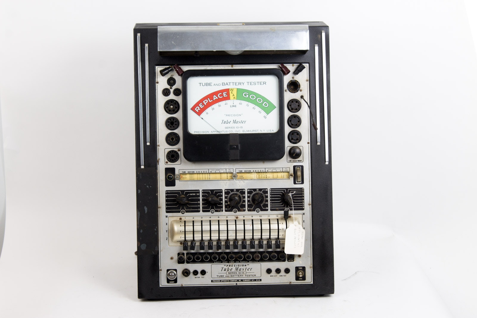 Vintage Precision 10-15 Tube and Battery Tester