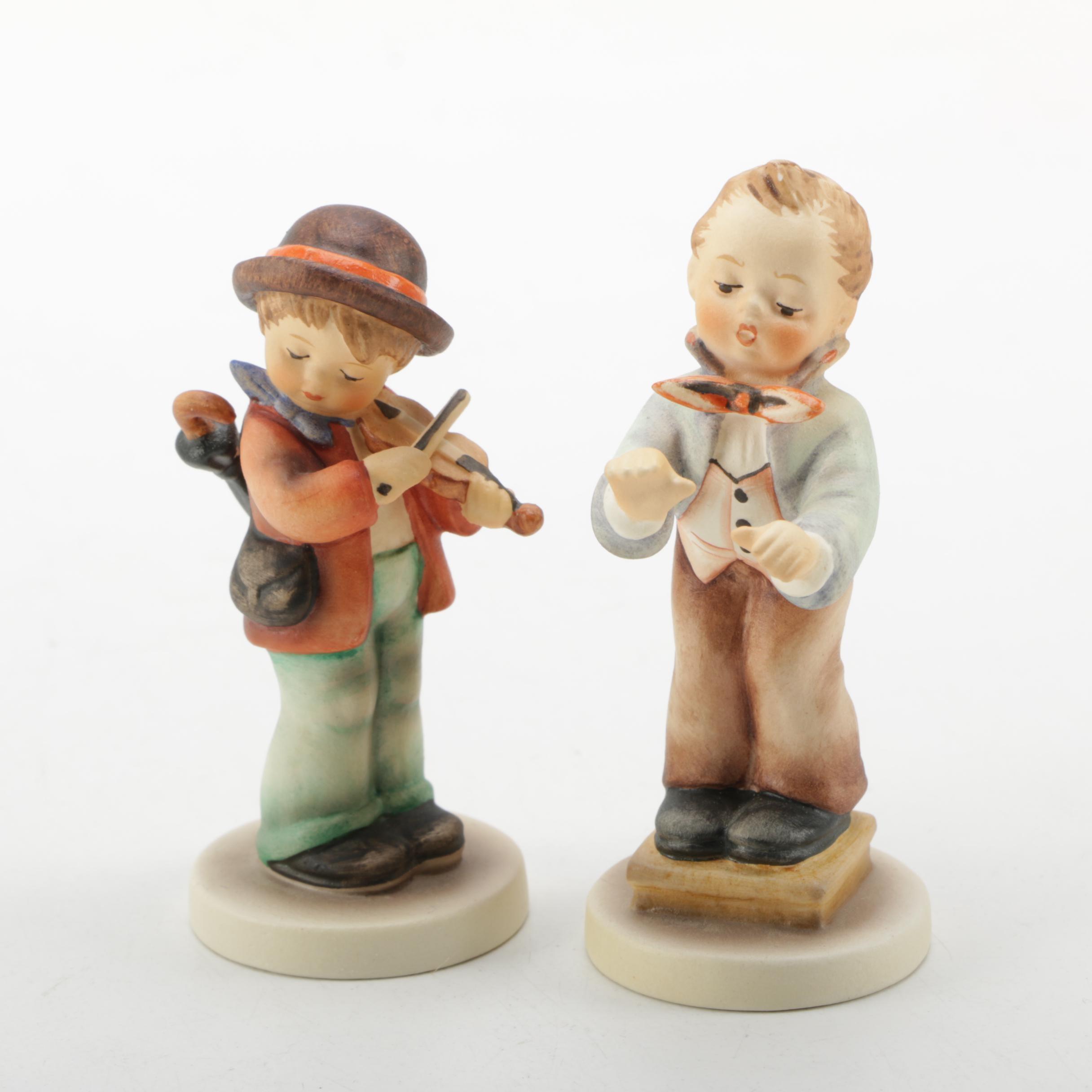 Pair of Vintage Hummel Figurines