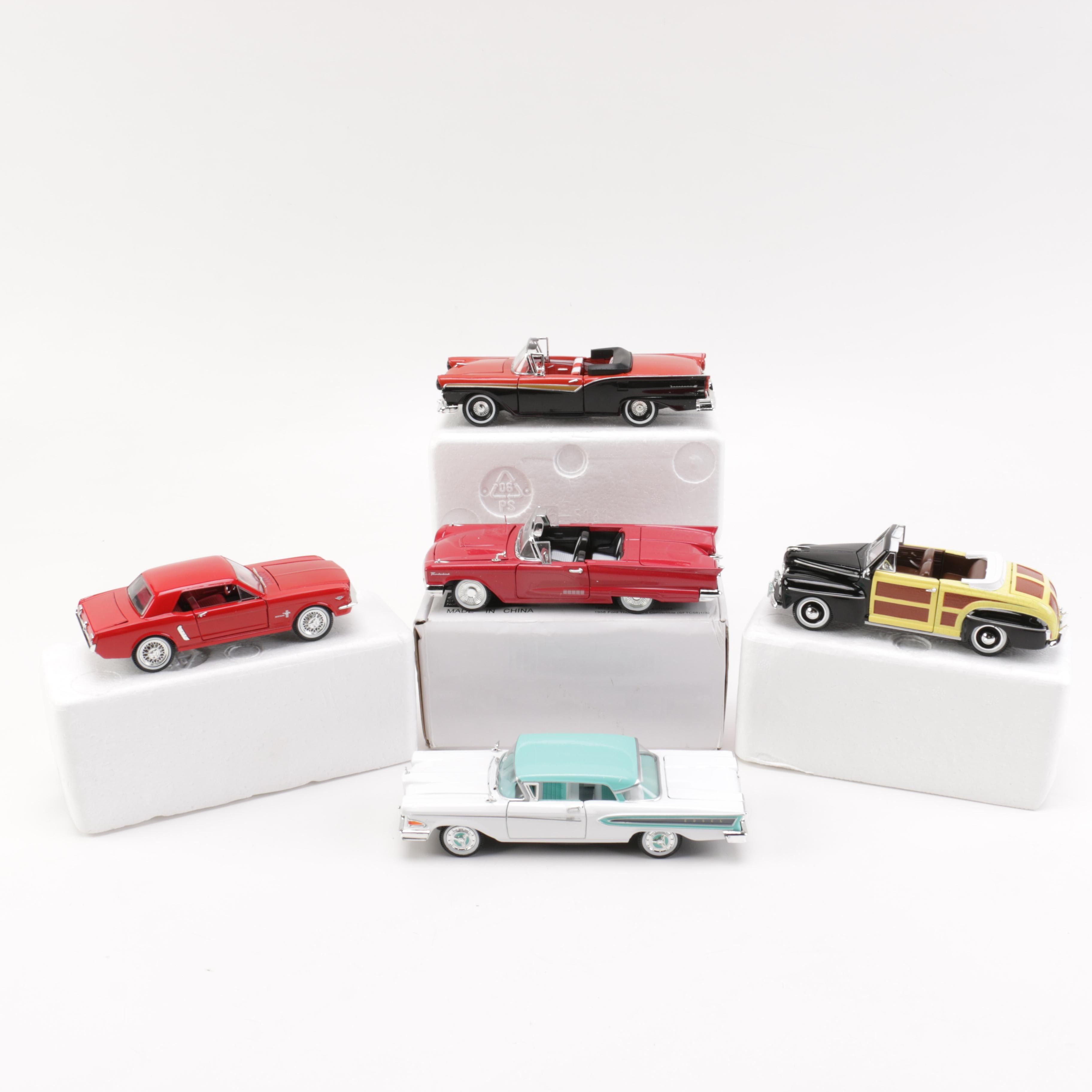 Collection of Five Die Cast Cars