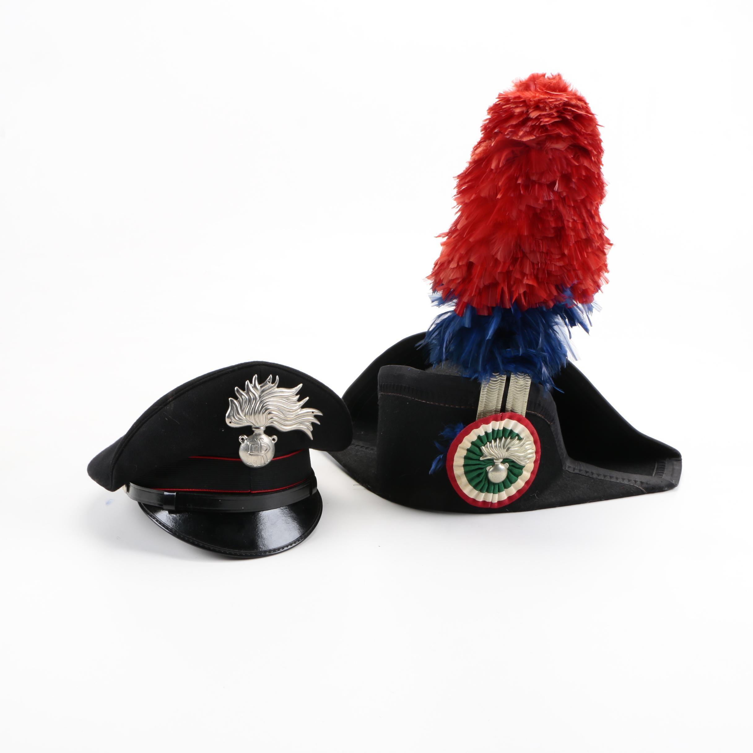 Italian Carabinieri Hats