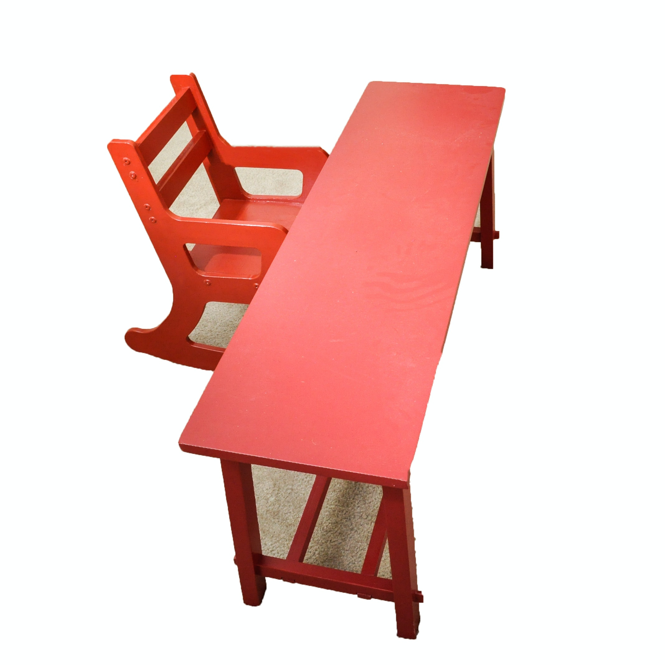 Childs Rocking Chair and Table