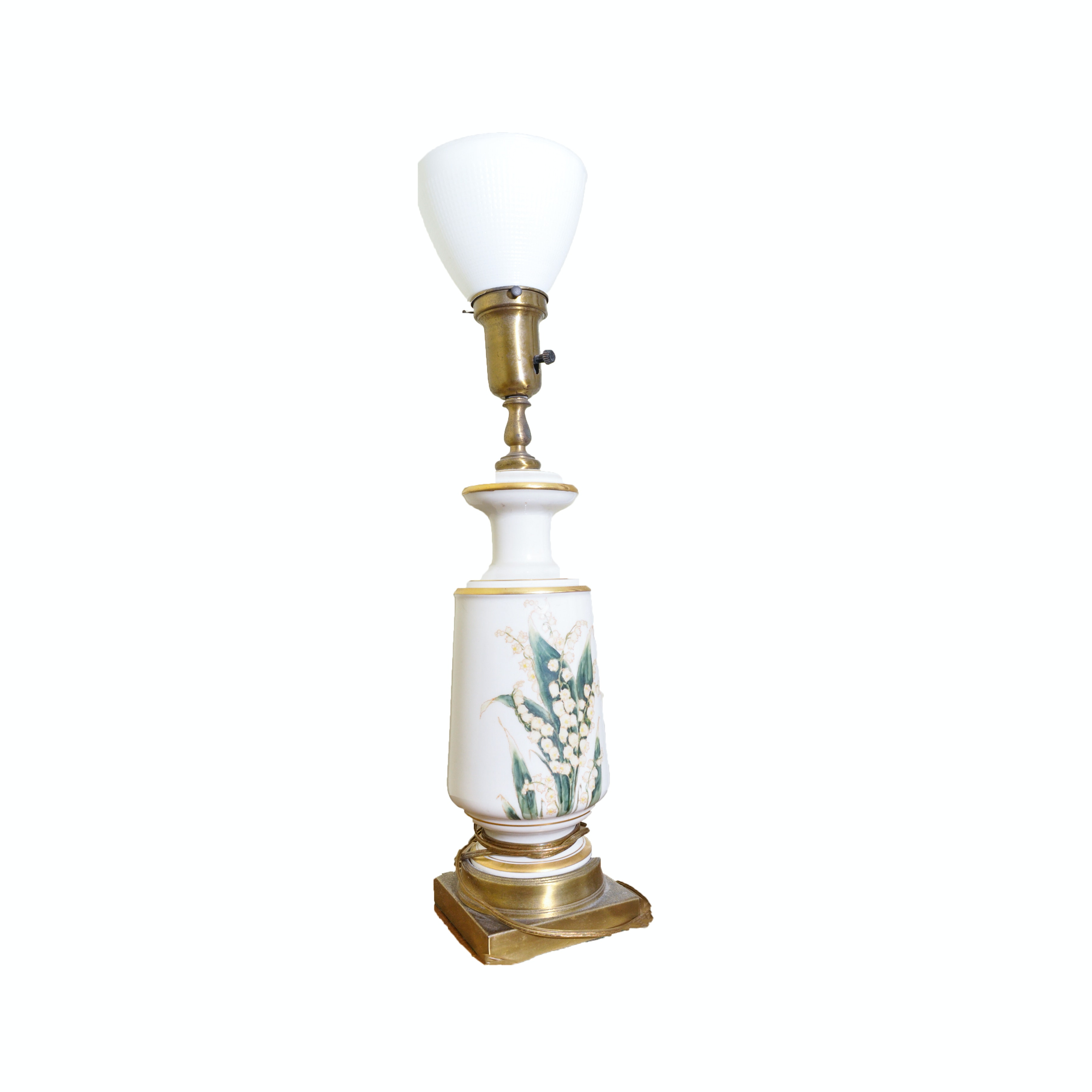 Torchiere Ceramic Table Lamp