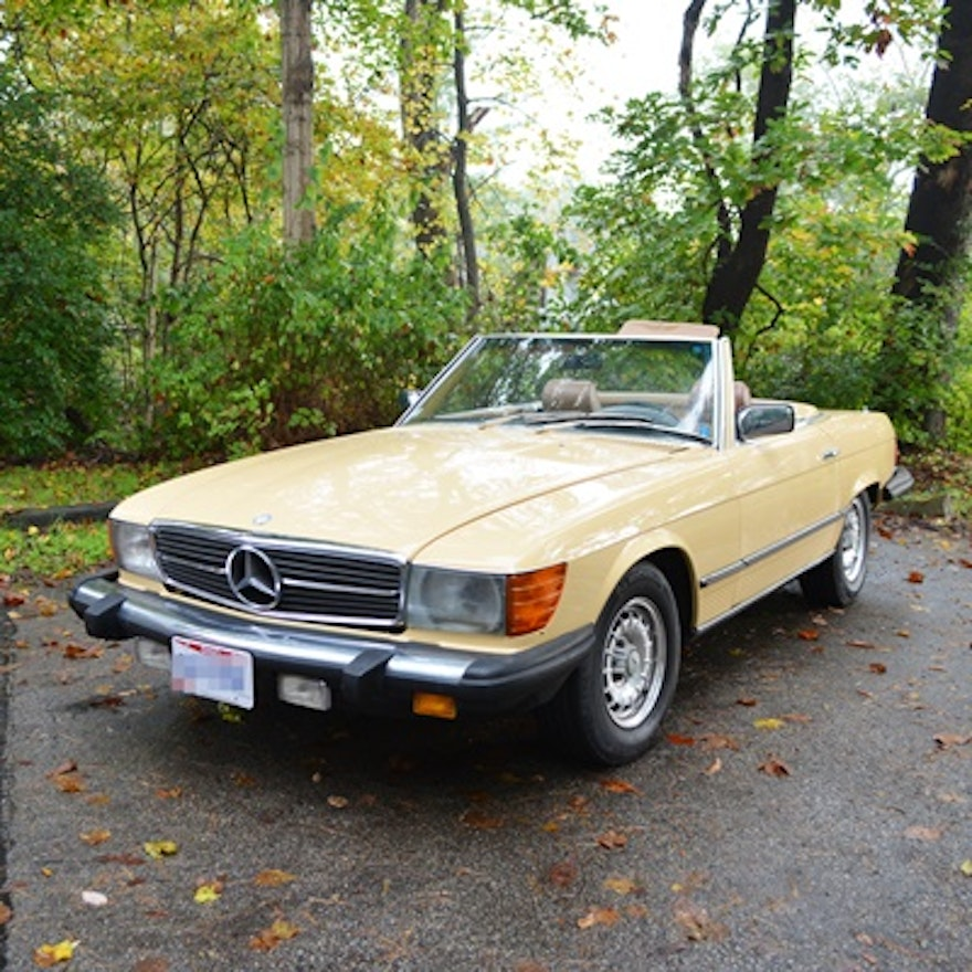 1980 mercedes benz convertible 450sl with low miles ebth for 1980 mercedes benz 450sl