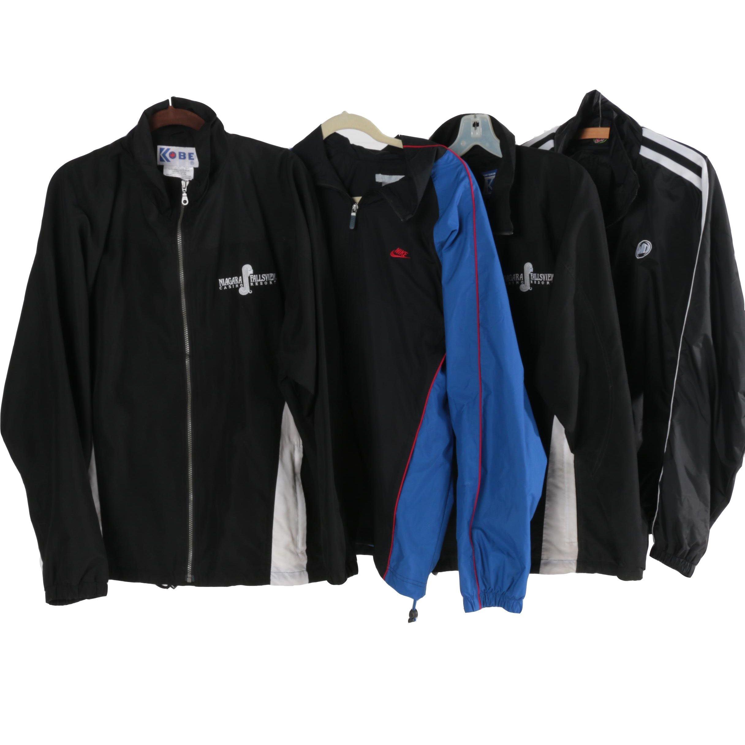 Men's Jackets Including Nike
