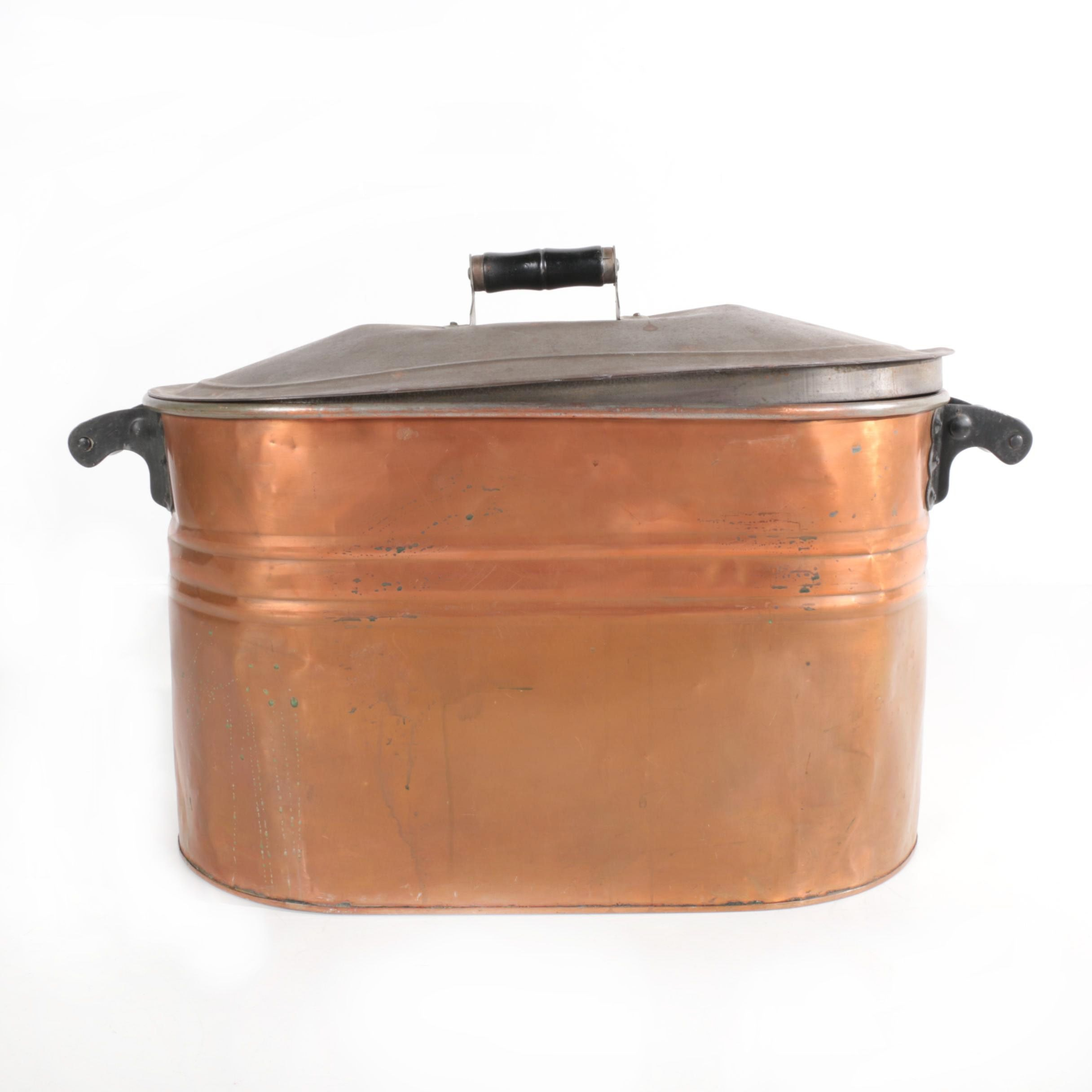 Copper and Tin Boiler Tub