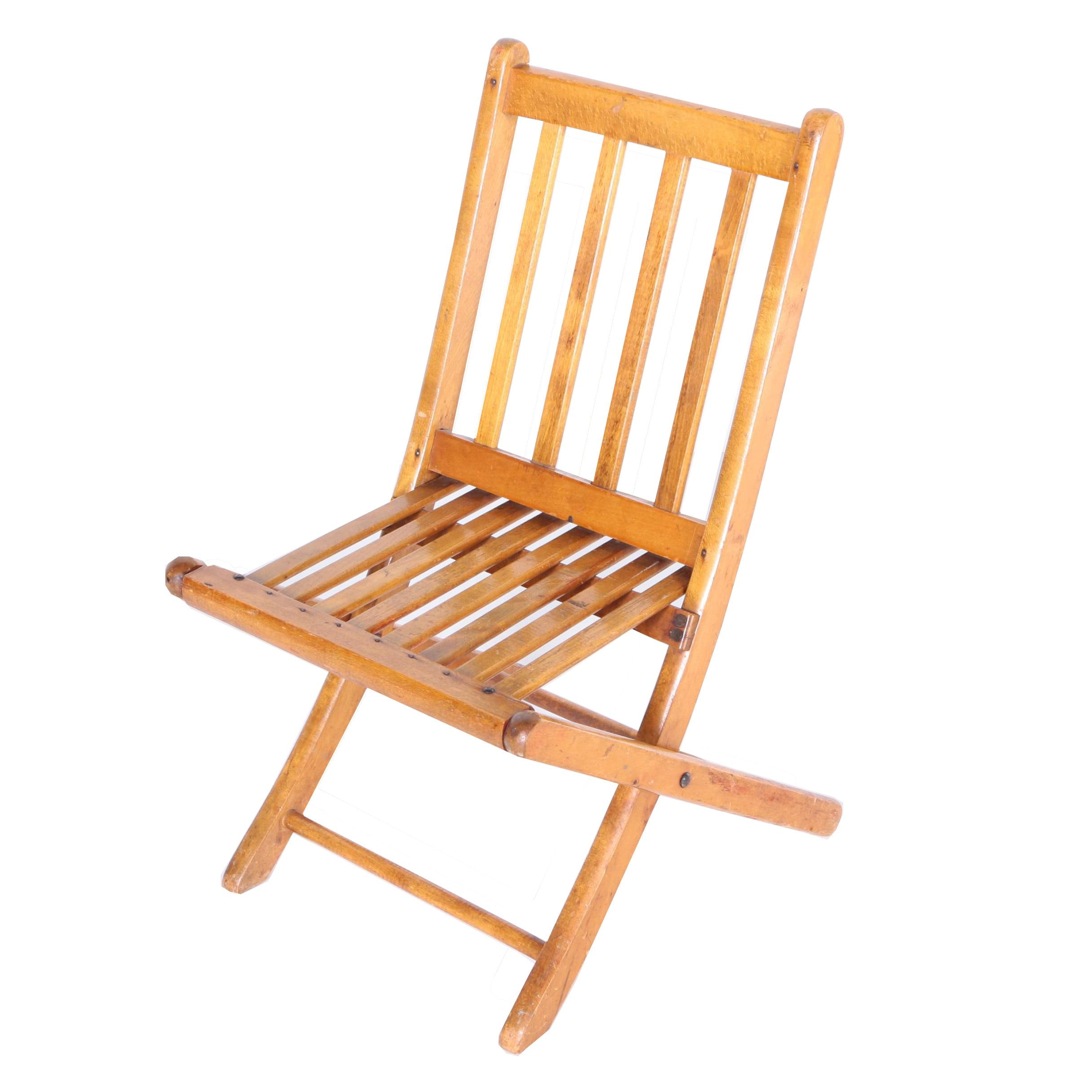 Folding Children's Chair from Paris Manufacturing Company