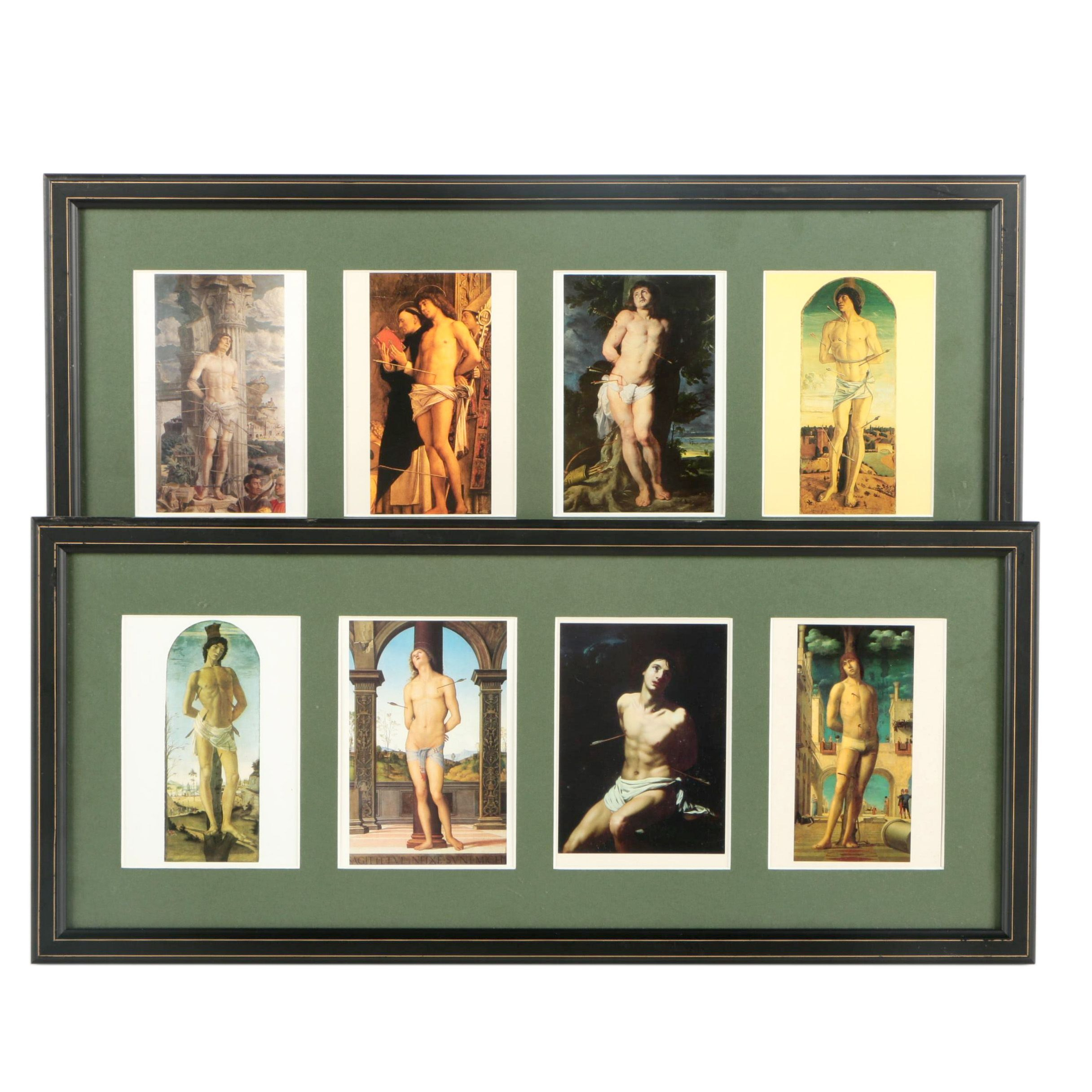 Offset Lithographs After Works by Renaissance Artists of St. Stephen