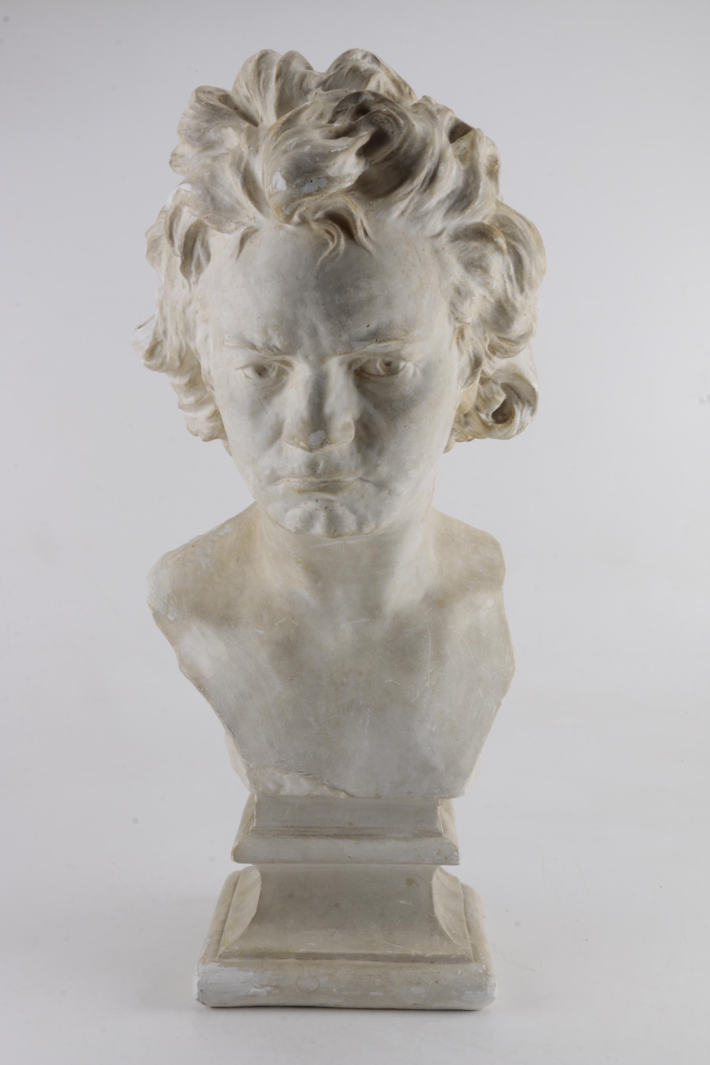 European Style Plaster Reproduction Bust