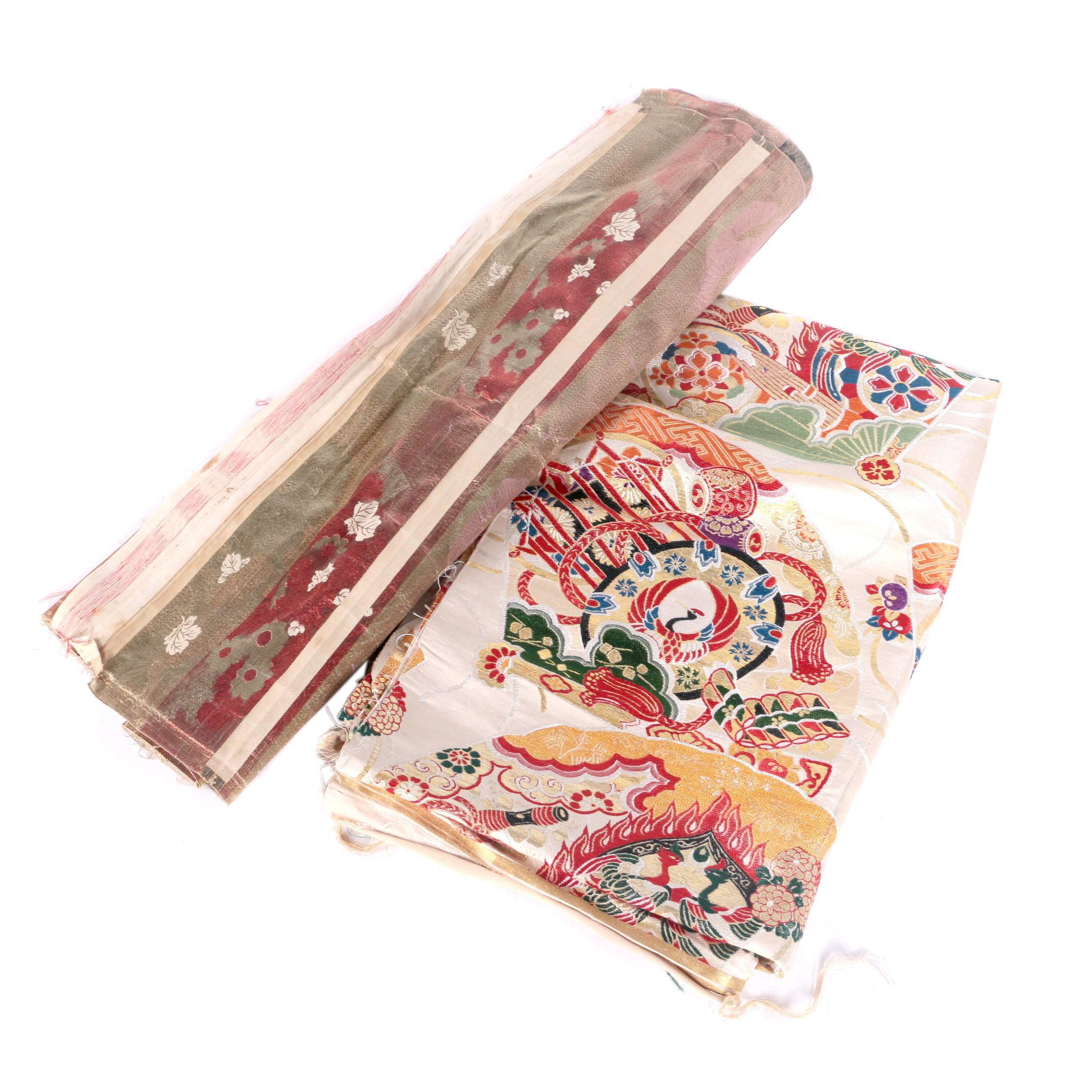 Asian Handwoven and Machine Loomed Tapestries