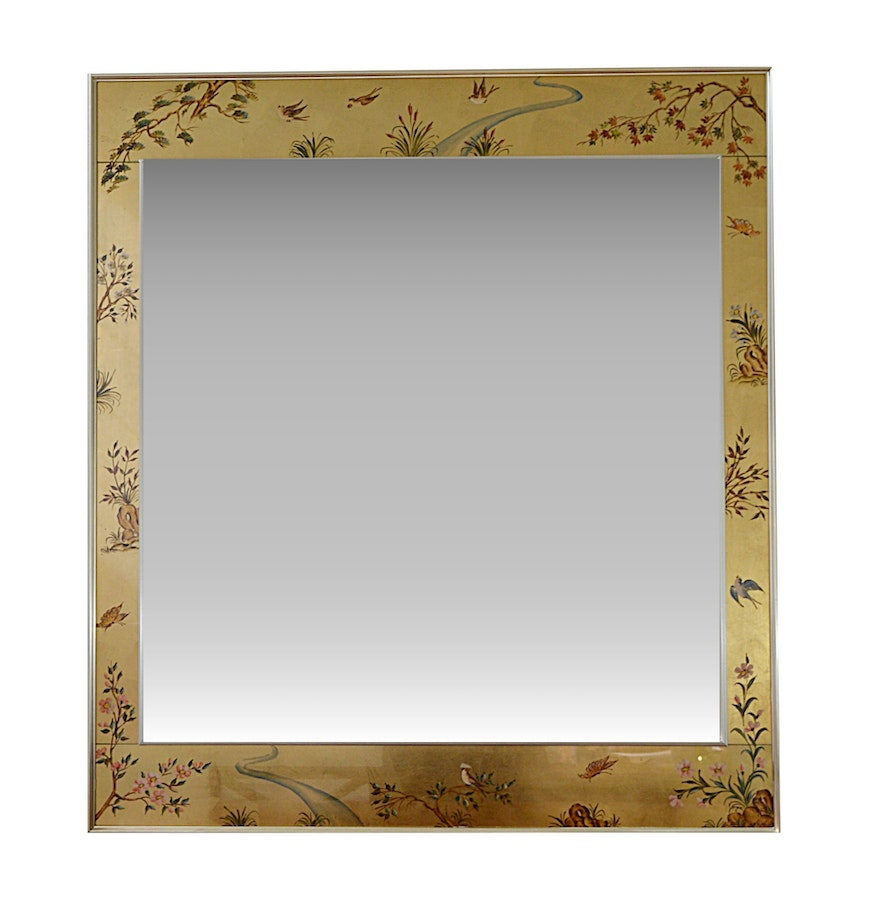 Asian style wall mirrors choice image home wall decoration ideas asian style enameled frame beveled wall mirror ebth asian style enameled frame beveled wall mirror amipublicfo amipublicfo Choice Image