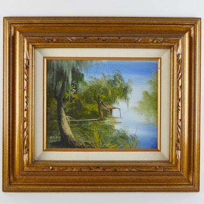 Miriam Ragan Original Landscape Oil Painting