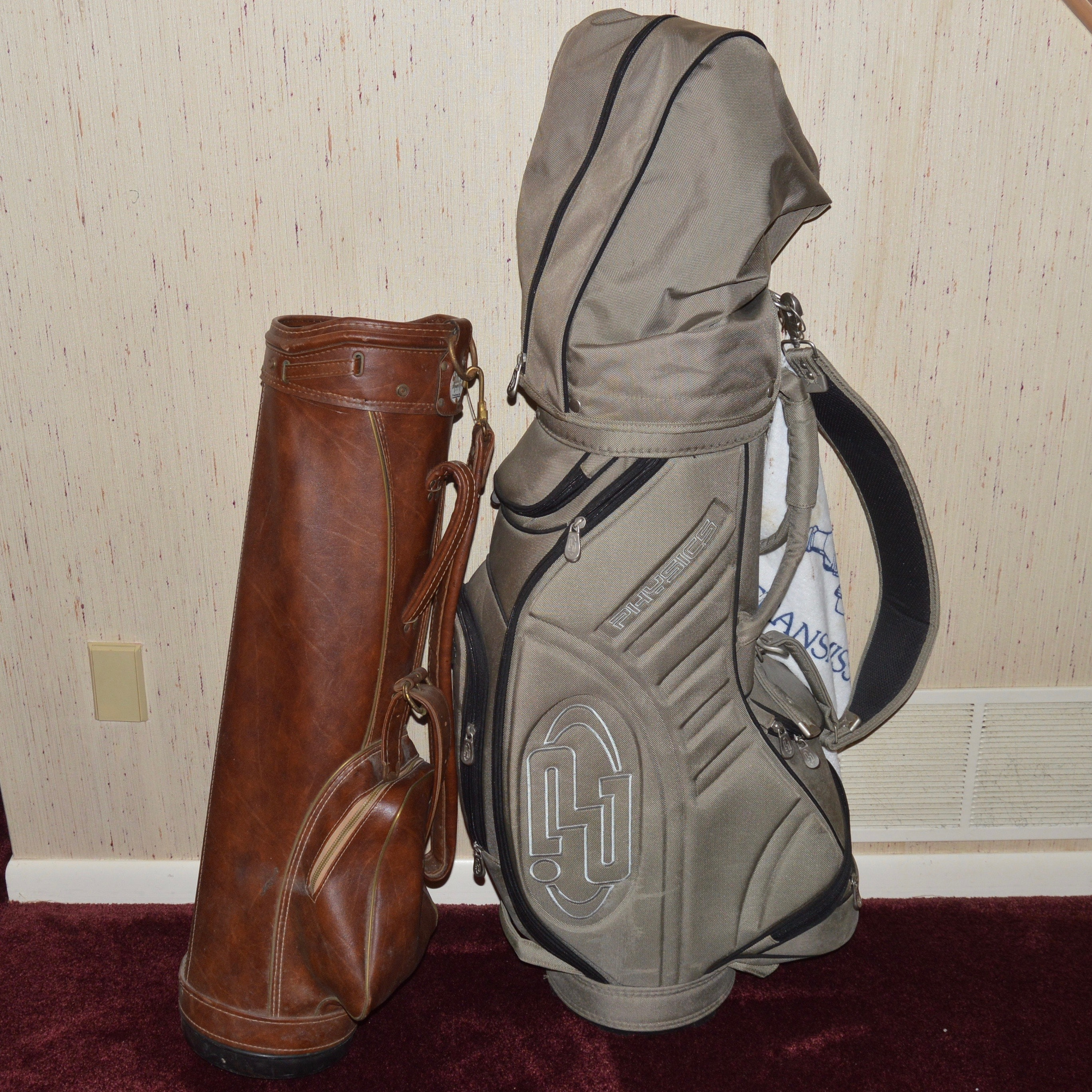 Golf Clubs and Golf Bags