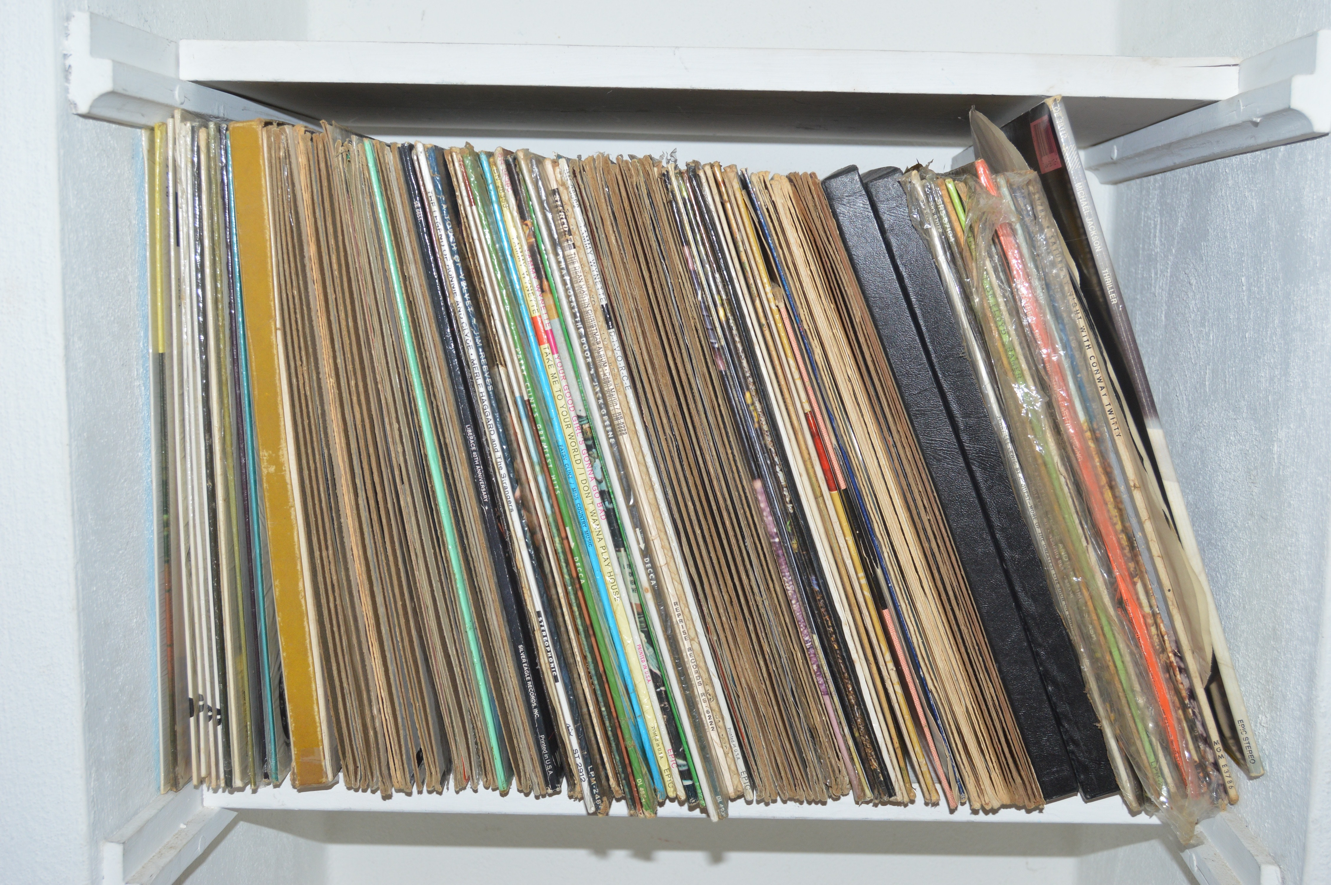Over 100 Primarily Classic Country LPs