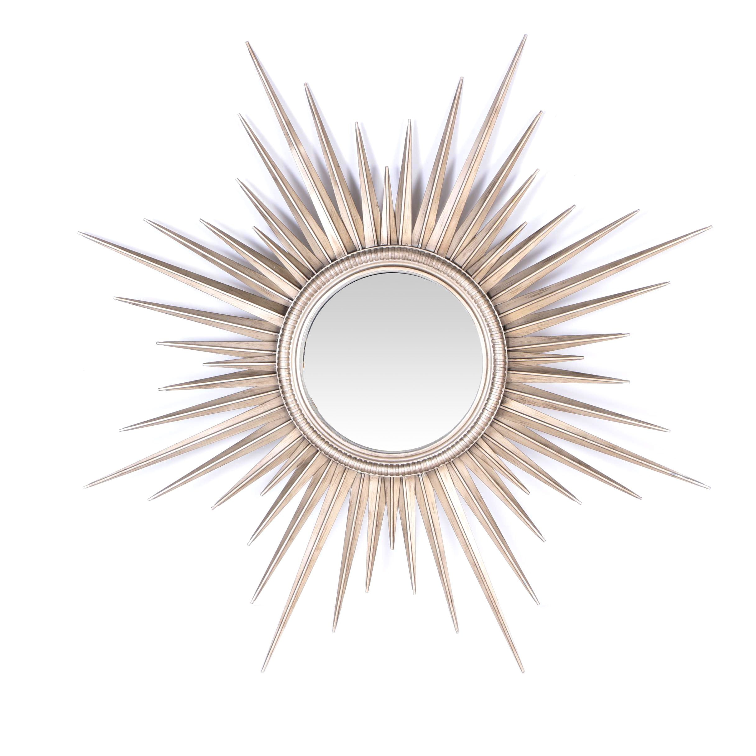 Restoration Hardware Sunburst Wall Mirror