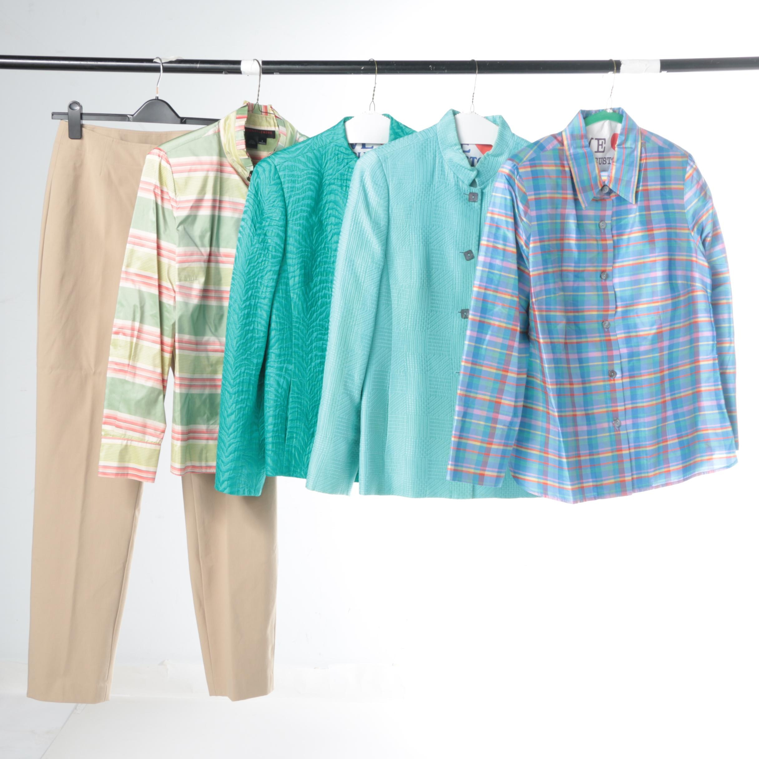 Women's Nina McLemore Button-Ups and Blazers