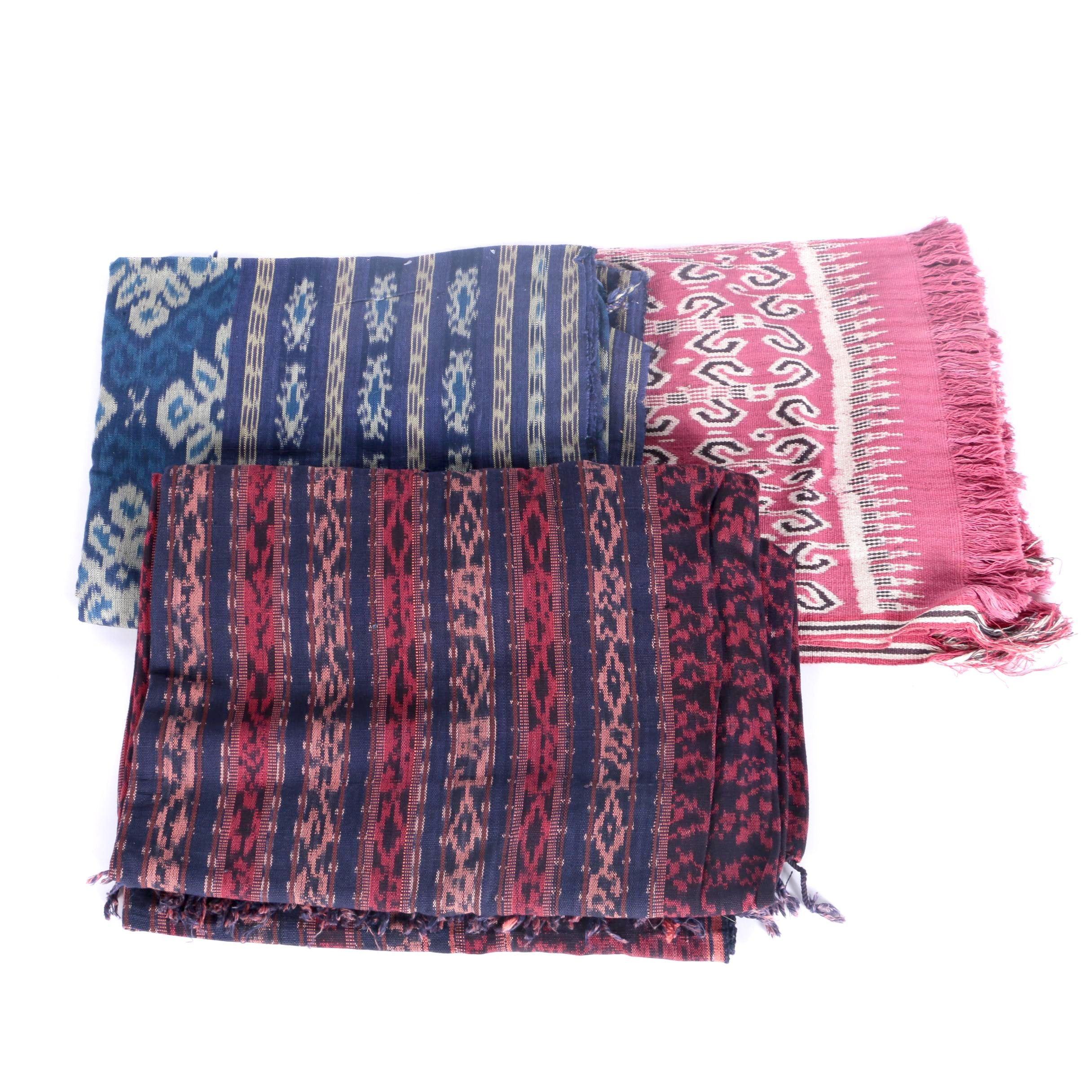 Three Indonesian Textiles