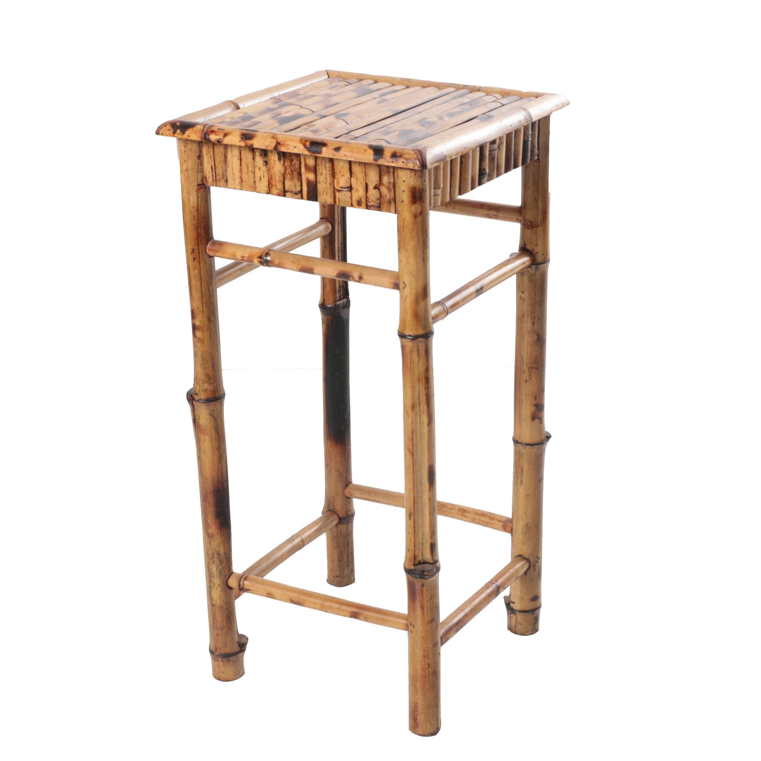 Bamboo Side Table Ebth