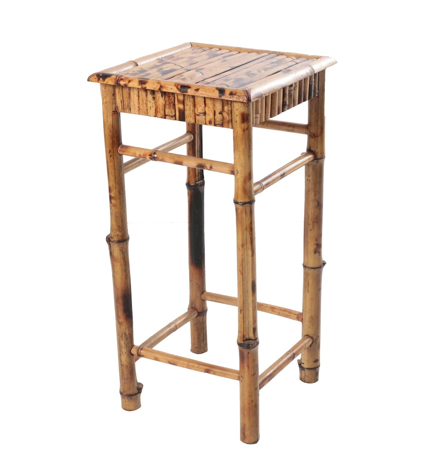 Bamboo side table ebth for Bamboo side table