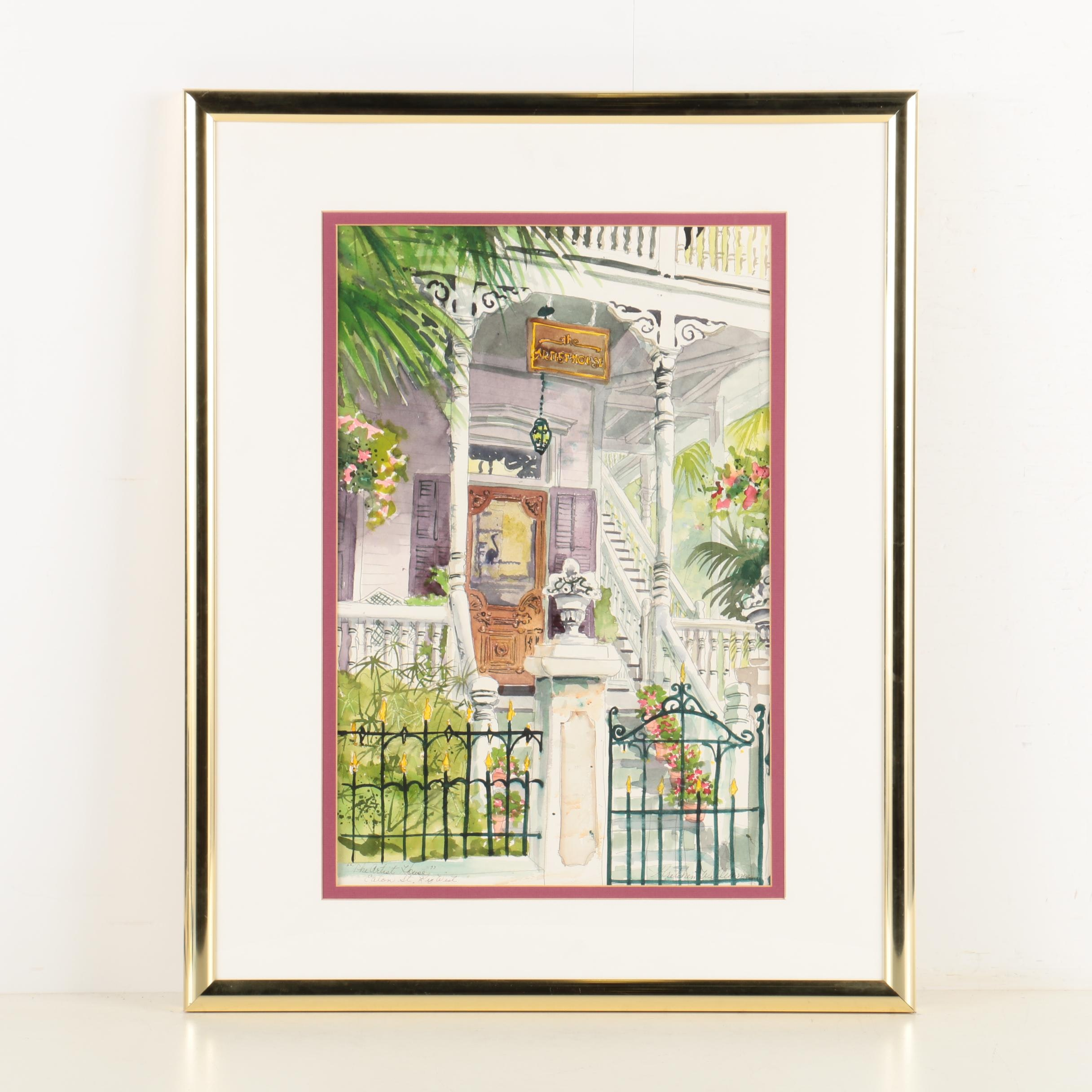 Gretchen Williams Watercolor On Paper Quot The Artist House