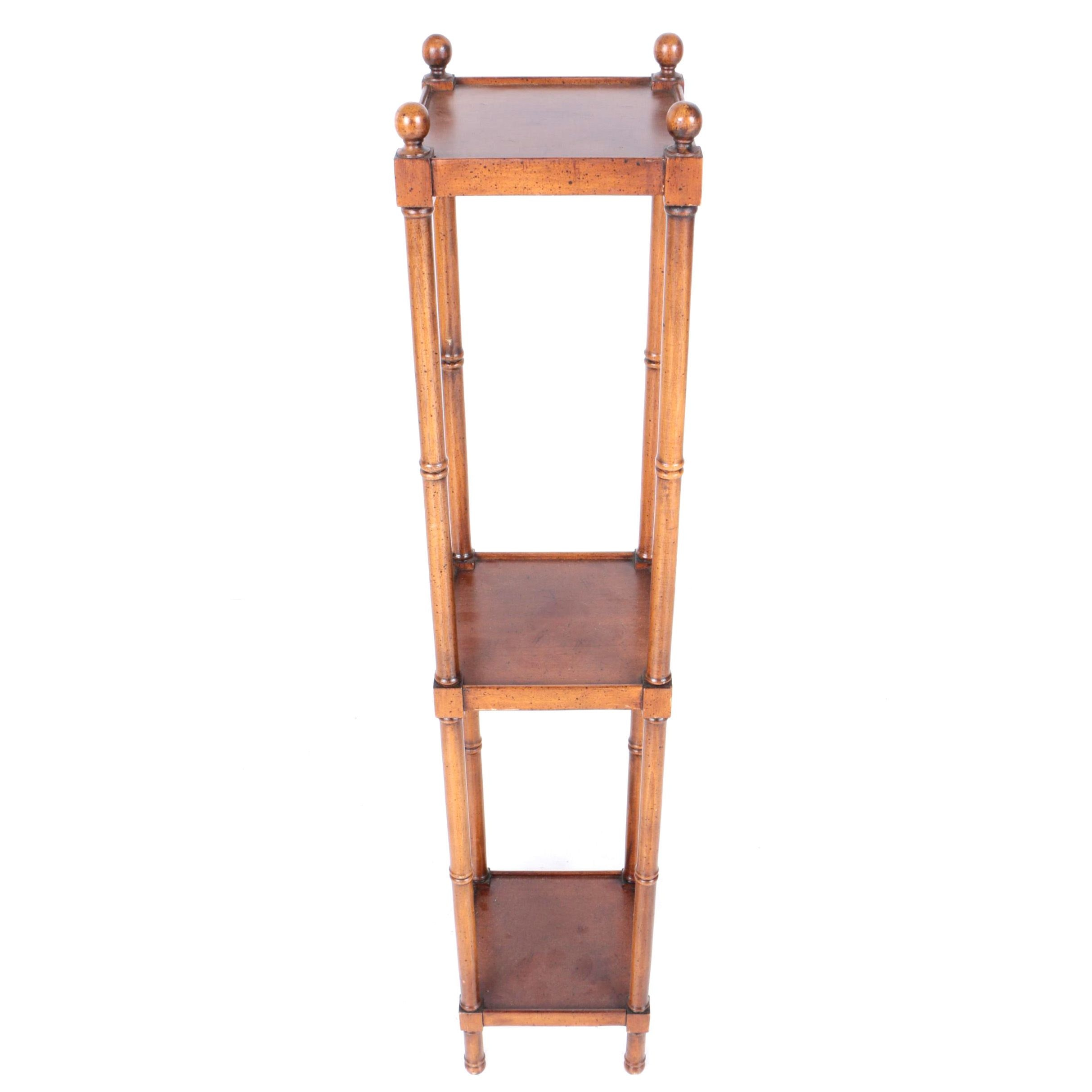 Three Tier Wooden Stand from Brandt