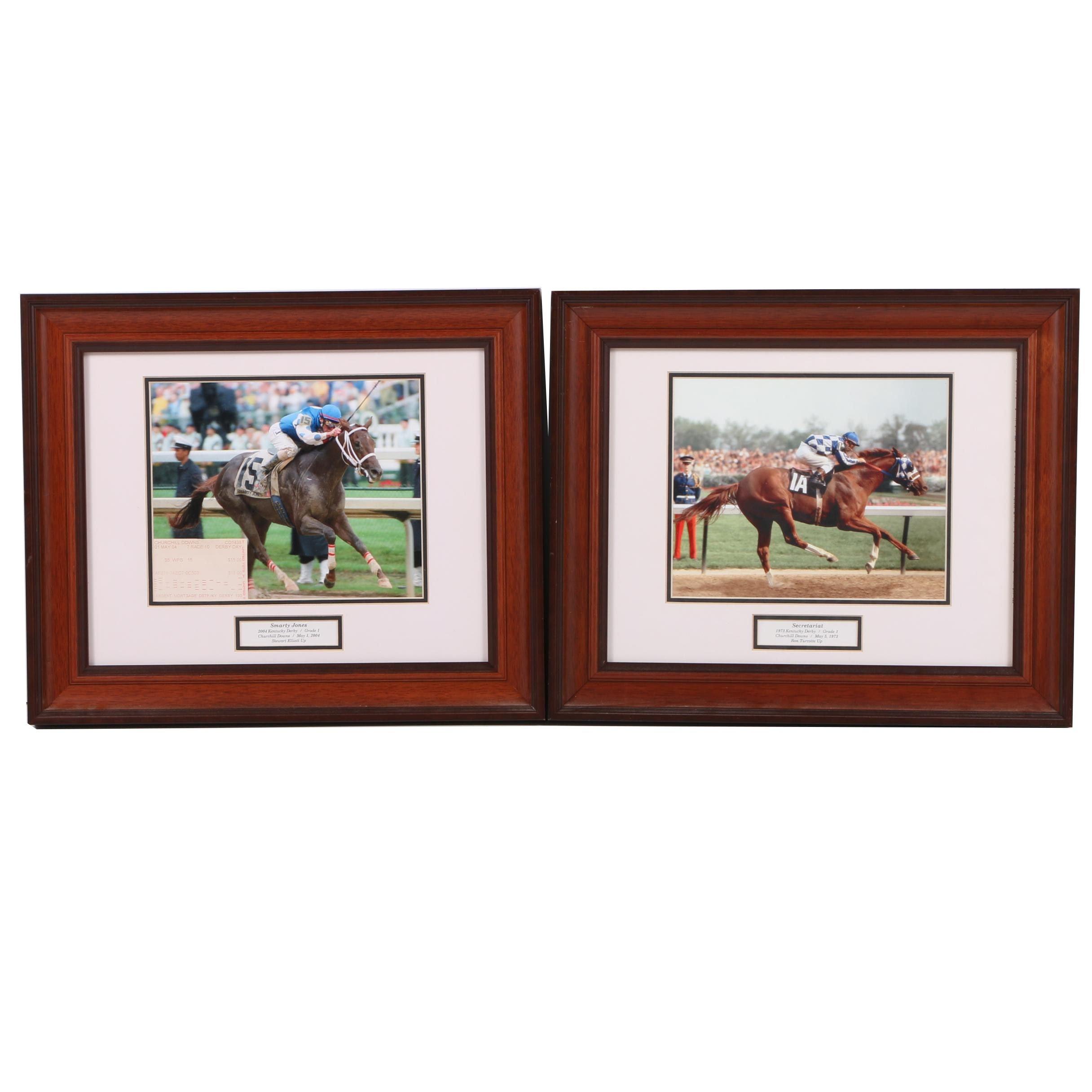 Pair of Kentucky Derby Photographs