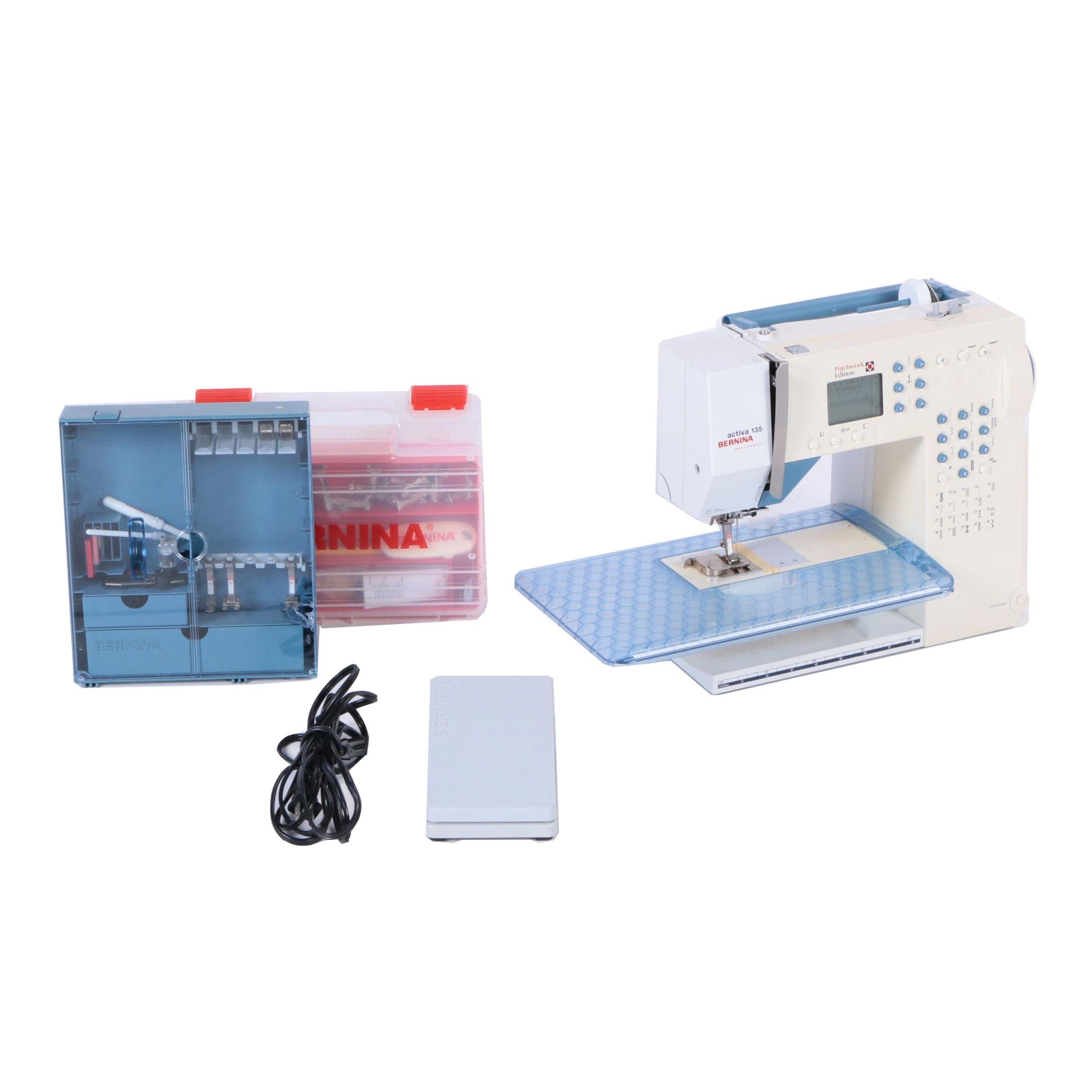 Bernina Sewing Machine and Accessories