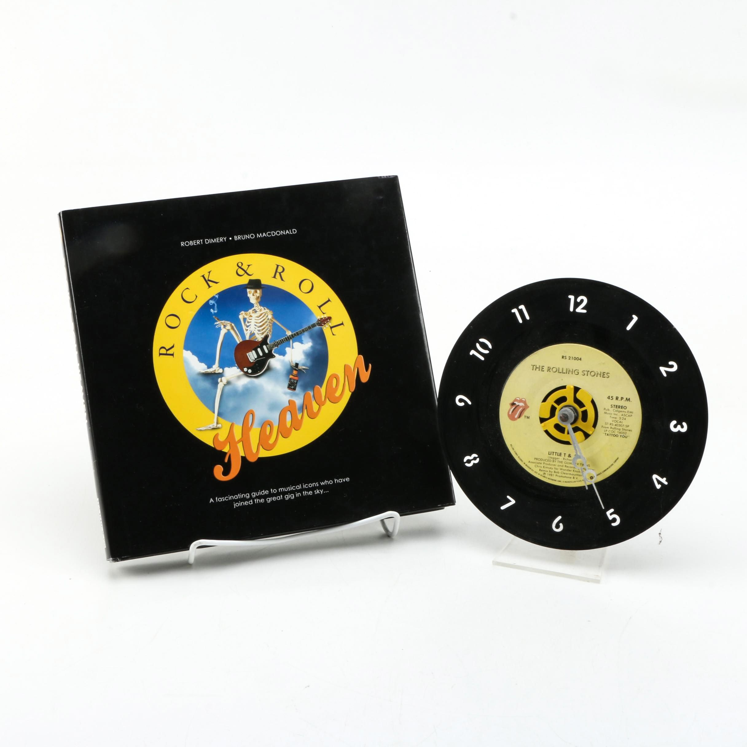 "2007 ""Rock & Roll Heaven"" and The Rolling Stones Record Clock"