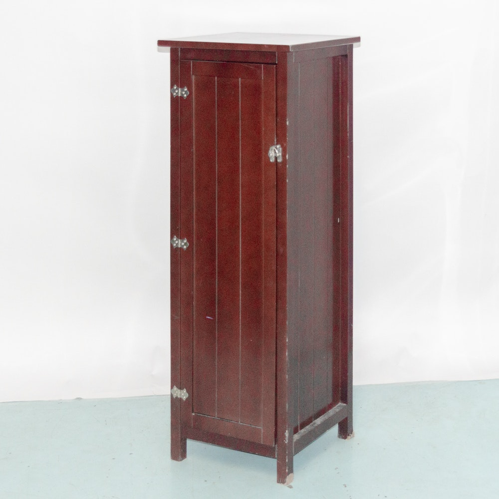 Mission Style Narrow Cabinet