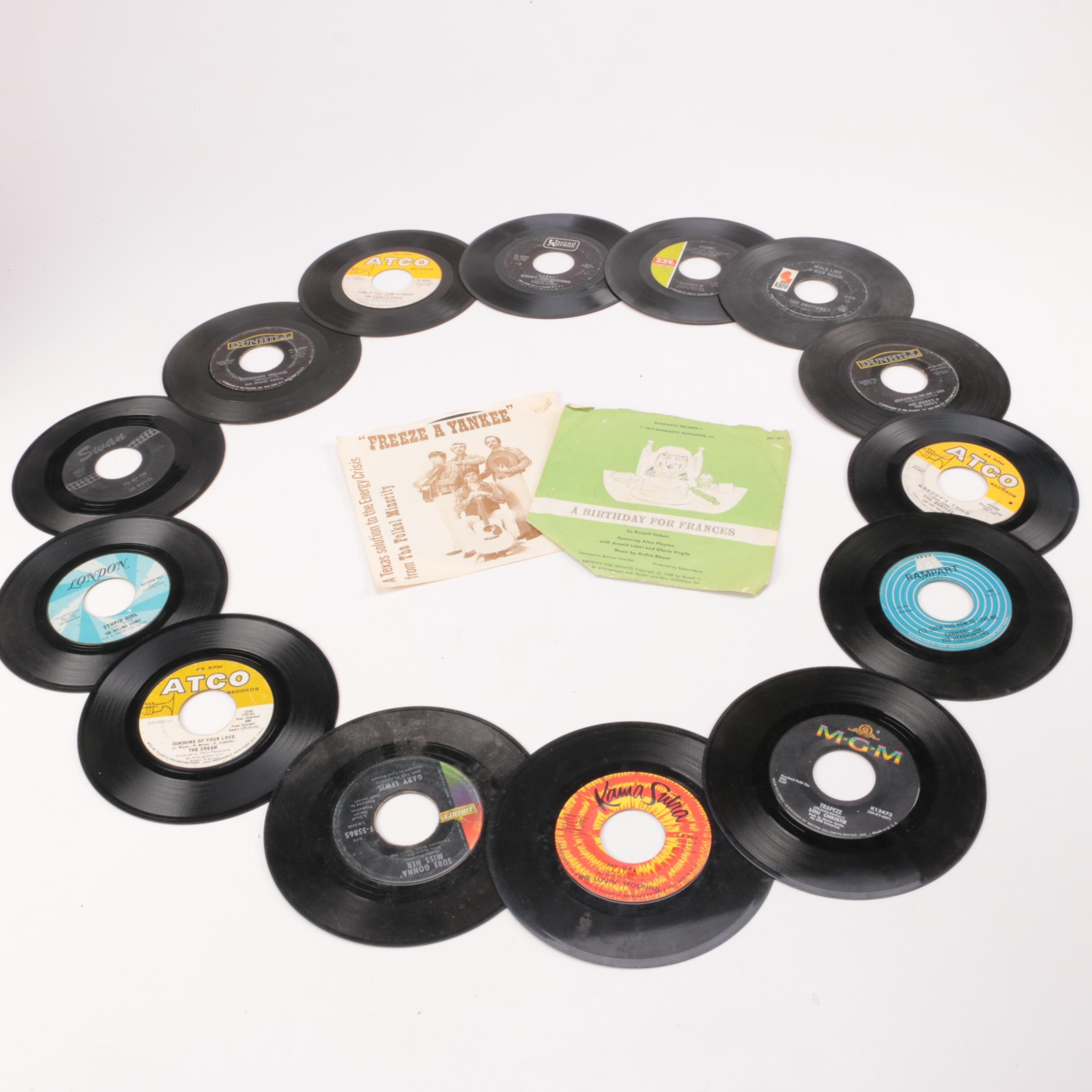 Beatles, Rolling Stones and Other Rock/Pop Singles