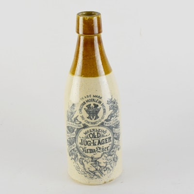 Christian Moerlein Old Jug-Lager Stoneware Bottle