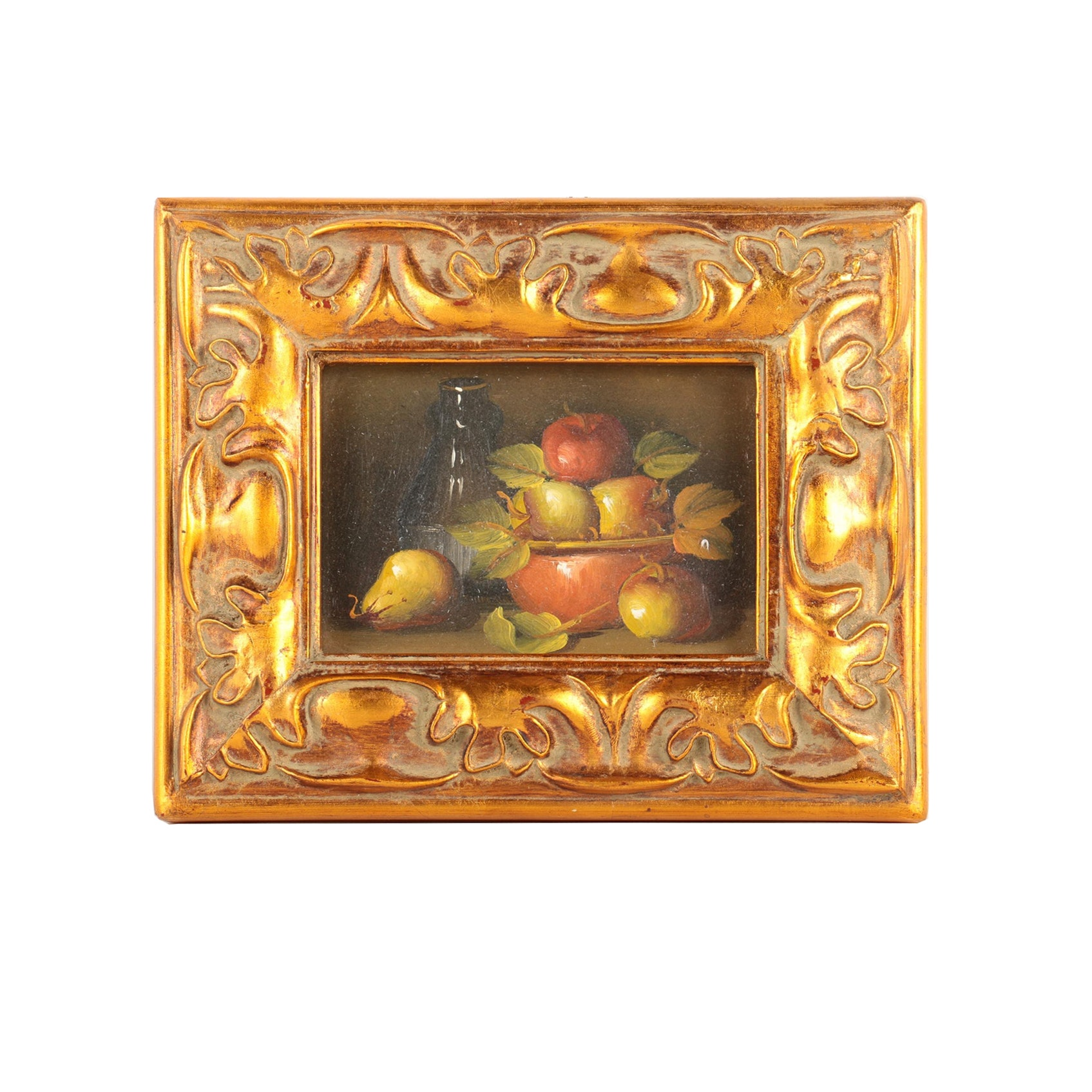 Oil Painting on Board of a Still Life