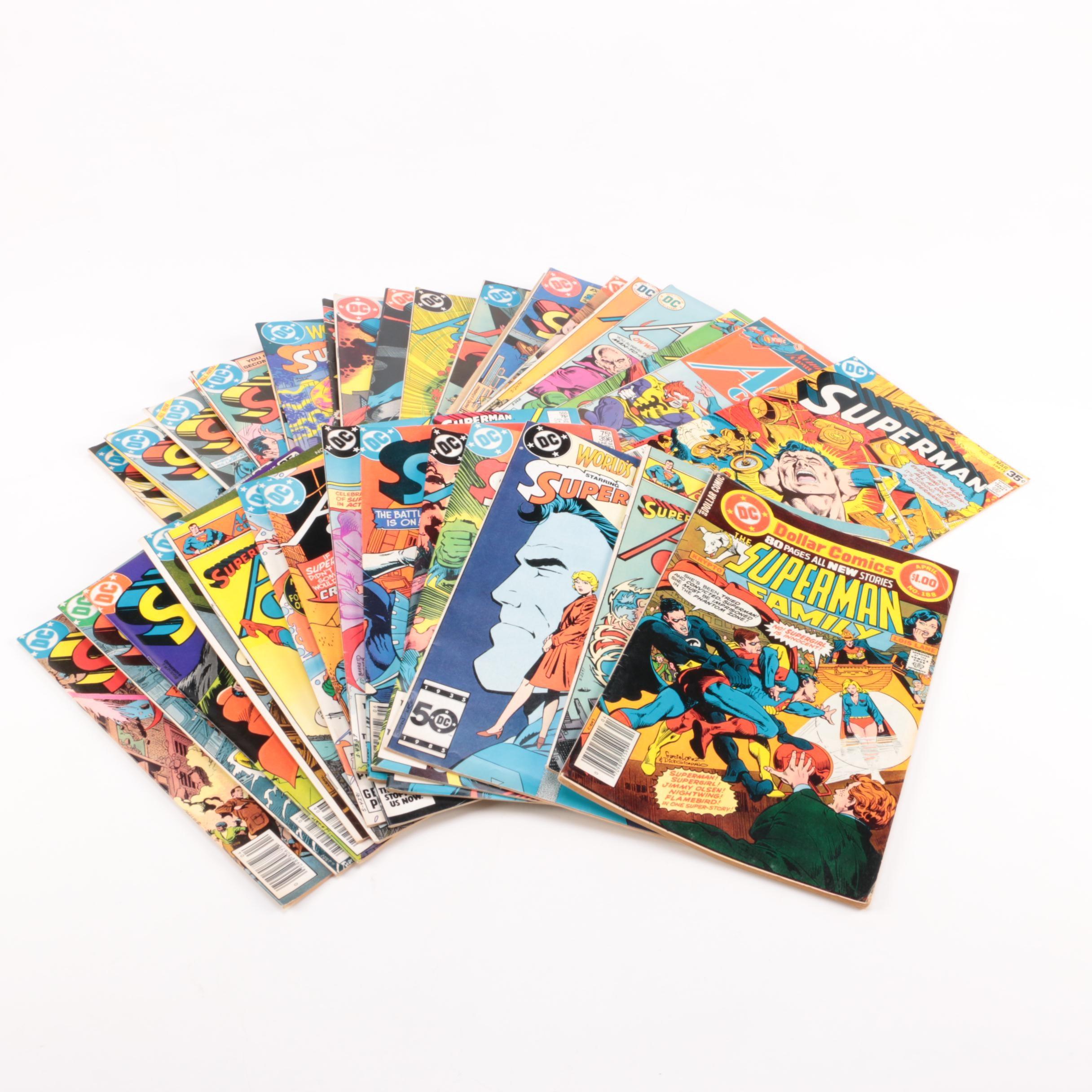 Bronze Age Superman Comic Collection