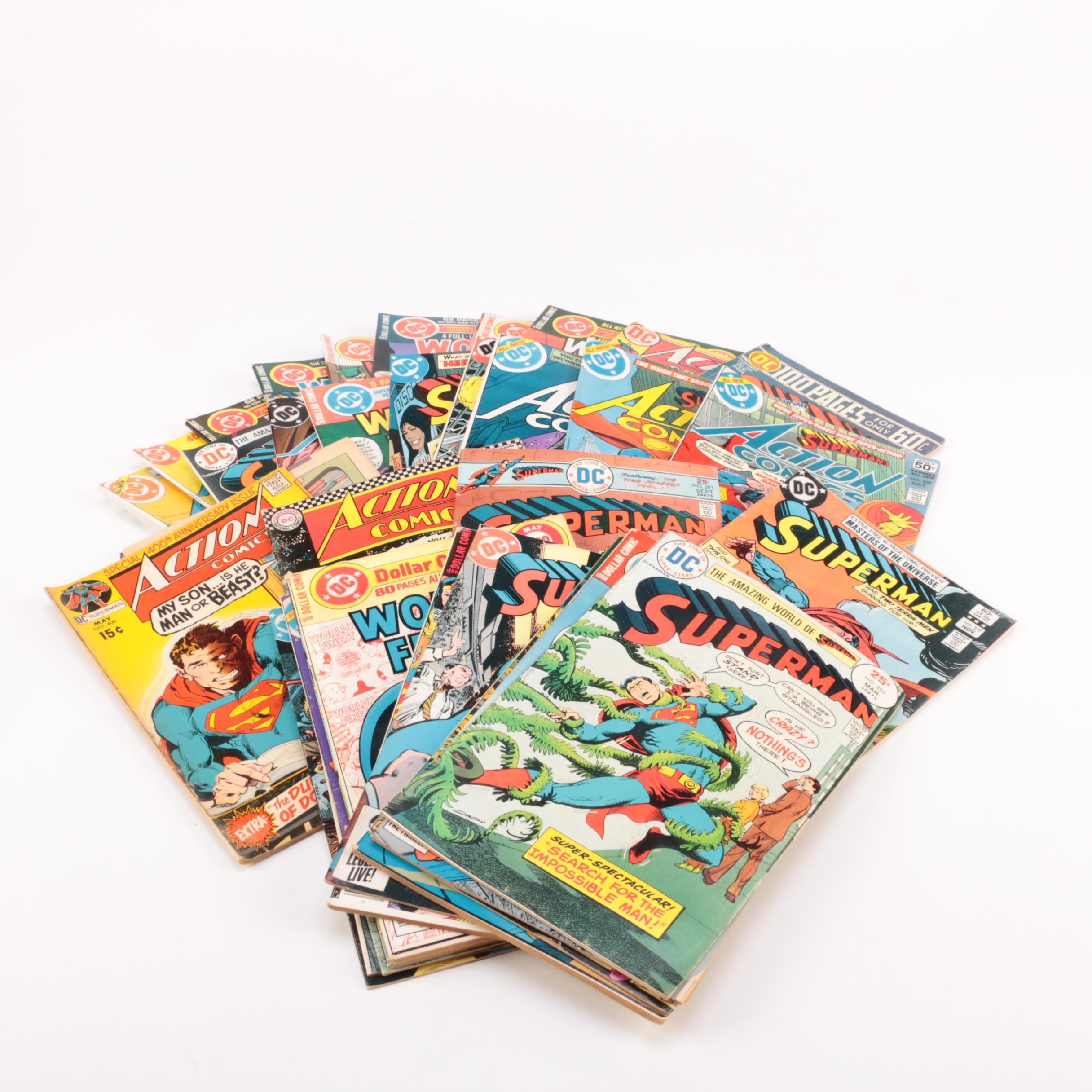 Superman Bronze Age DC Comic Books