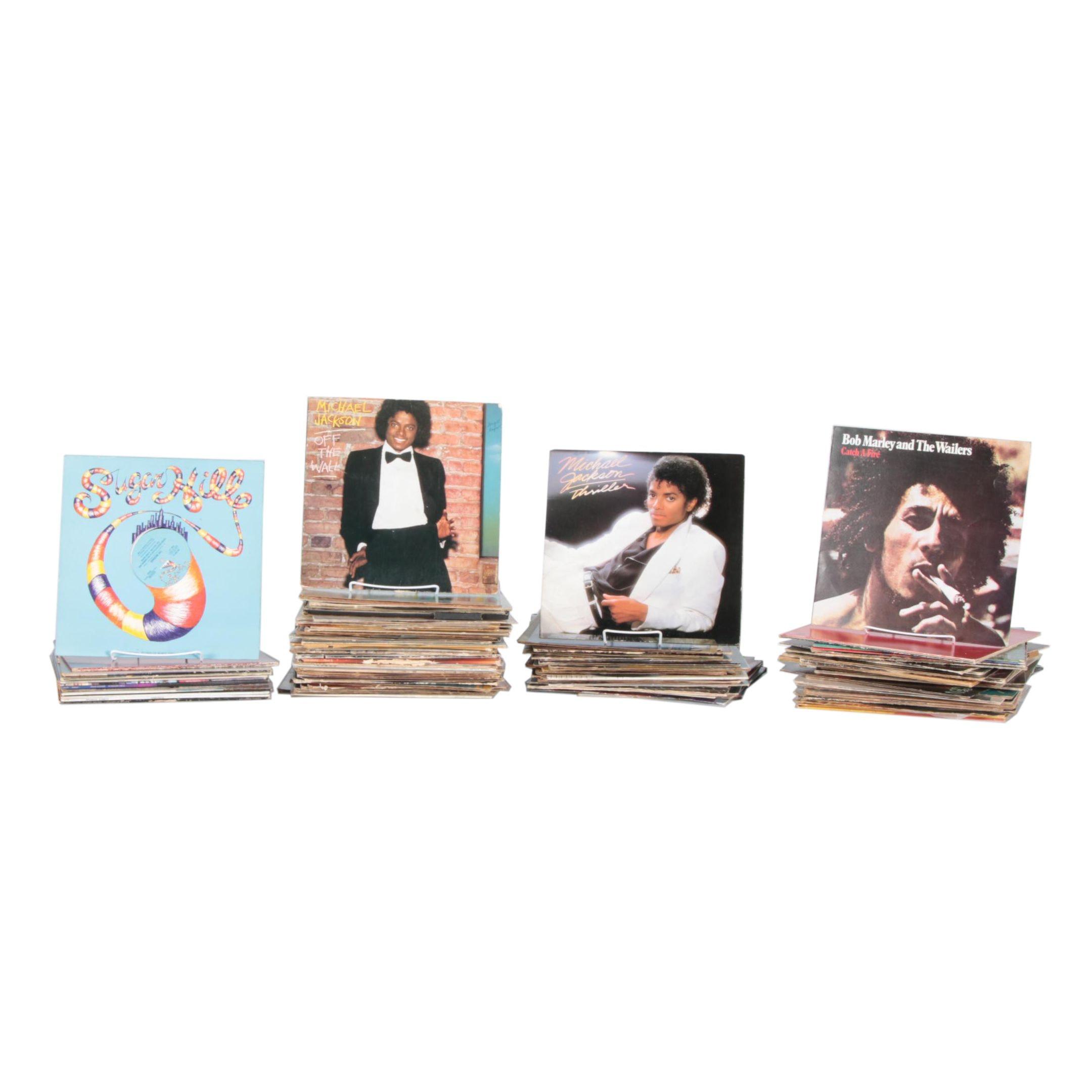 Michael Jackson, Bob Marley, Paul McCartney, Other Rock/Pop LPs