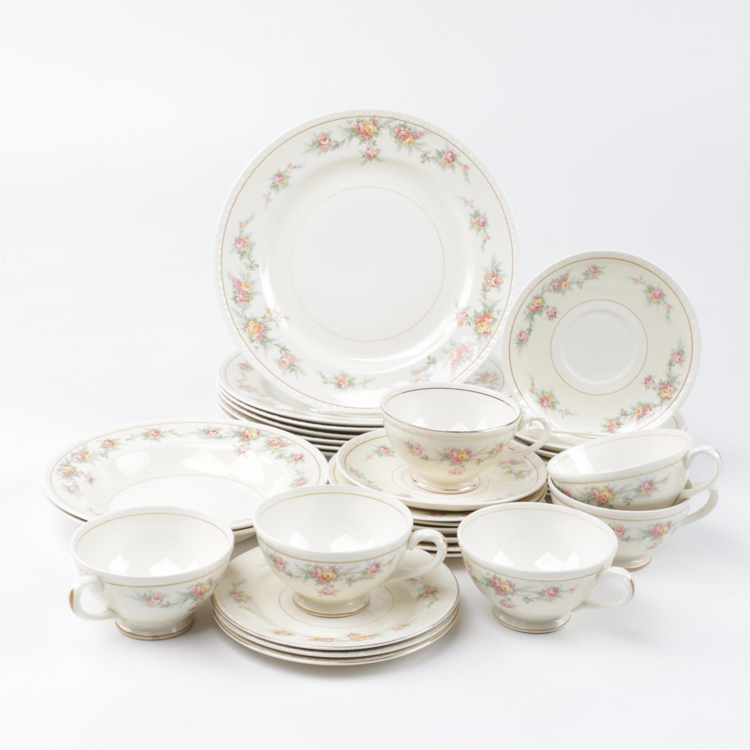 1942 Homer Laughlin Tableware