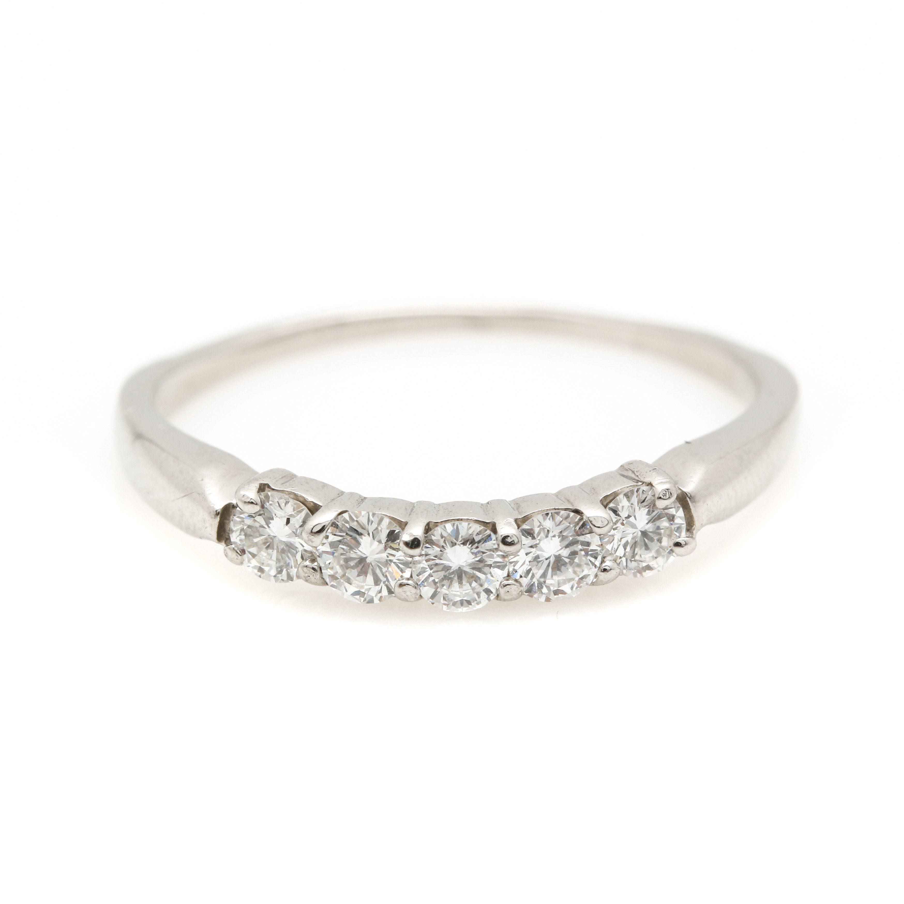 Platinum and Diamond Enhancer Ring