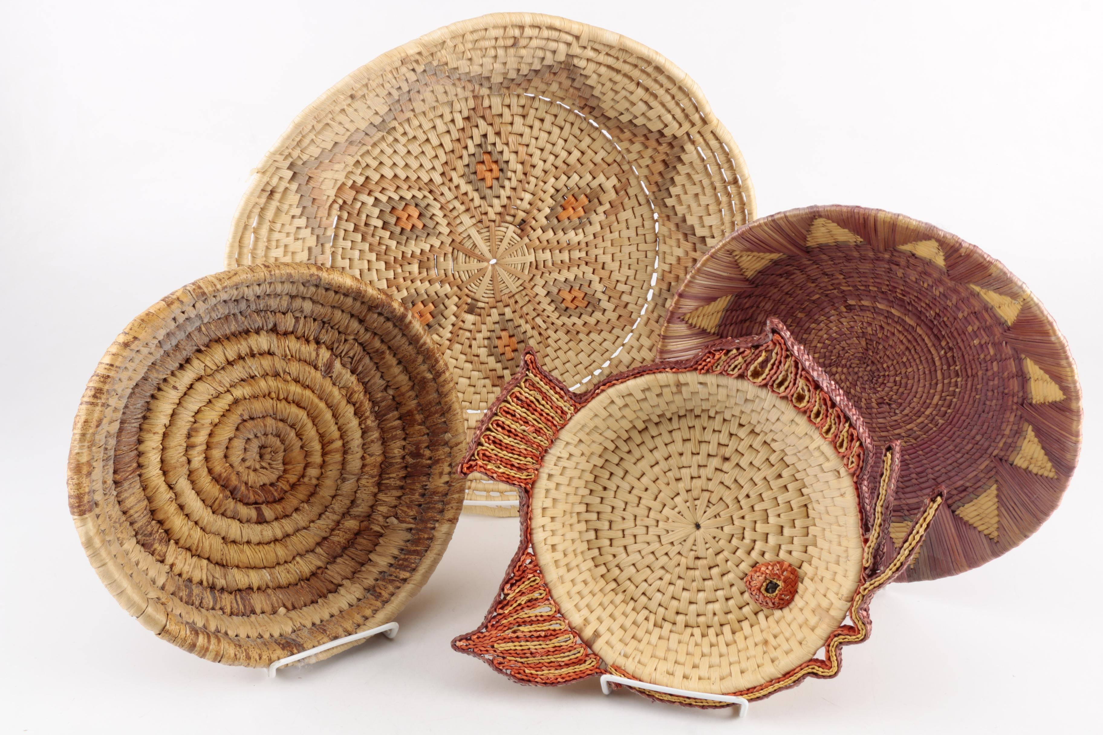 Woven Straw Baskets