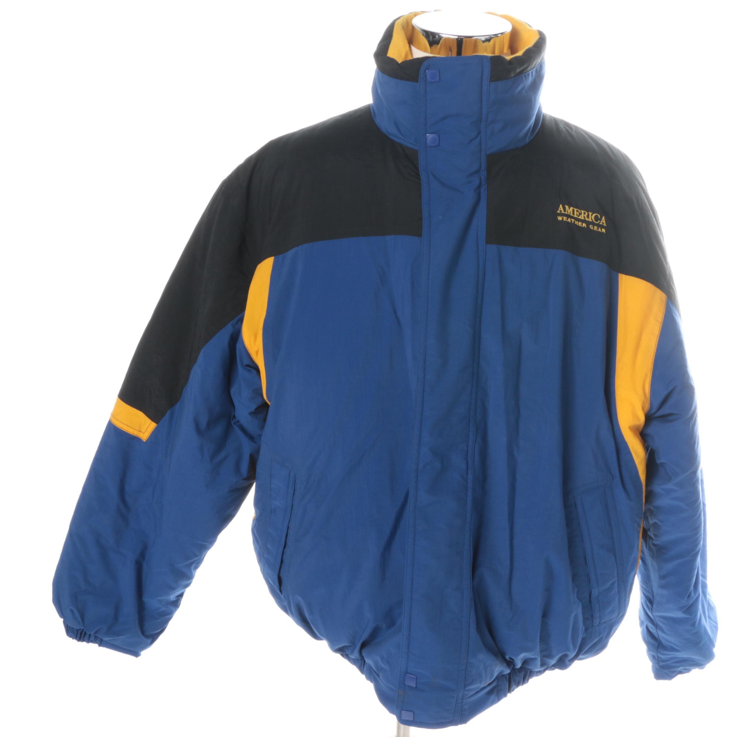 Men's America Weather Gear Nylon Coat