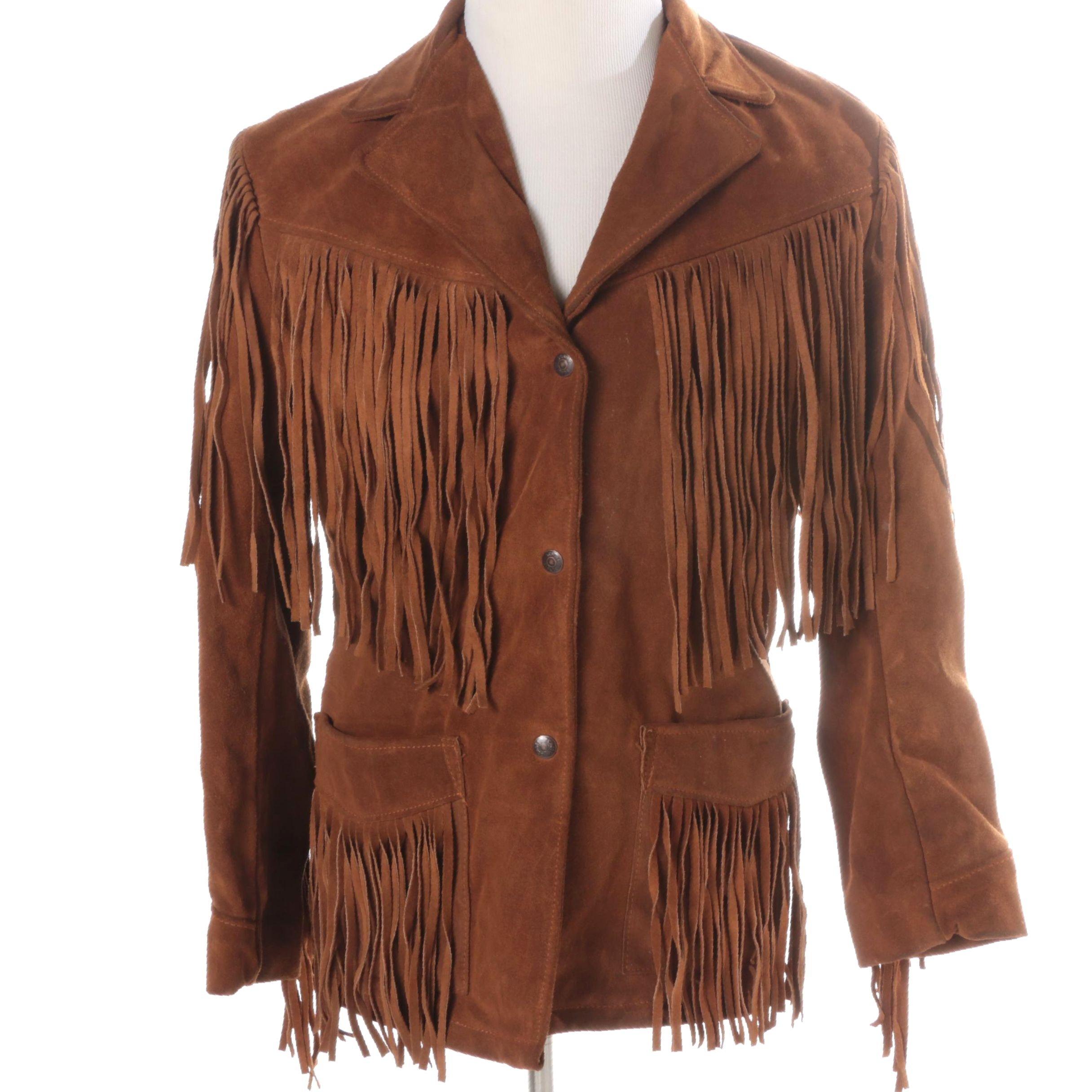Women's Western Leather Jacket by Schott